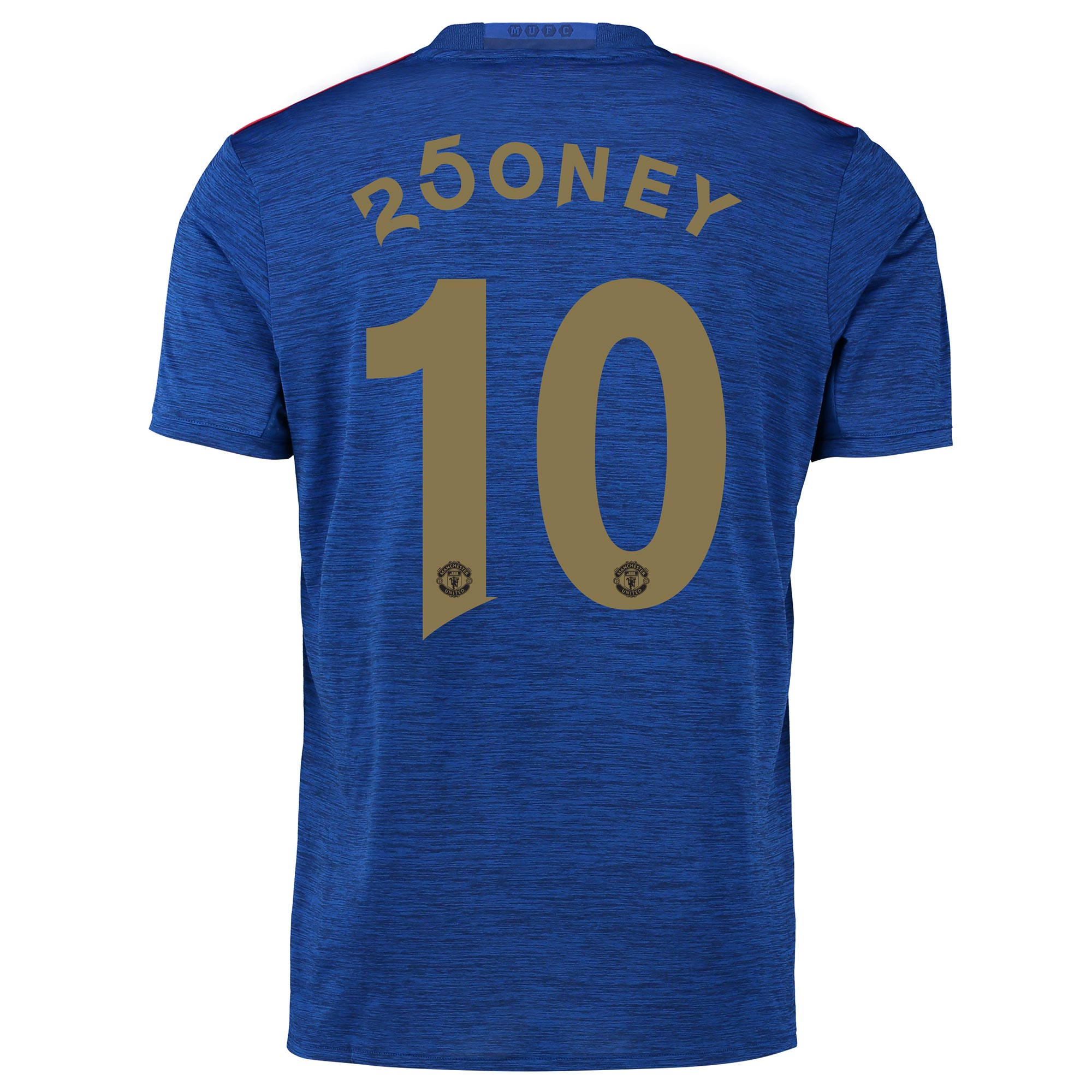 Manchester United Away Shirt 2016-17 with 250ney 10 printing