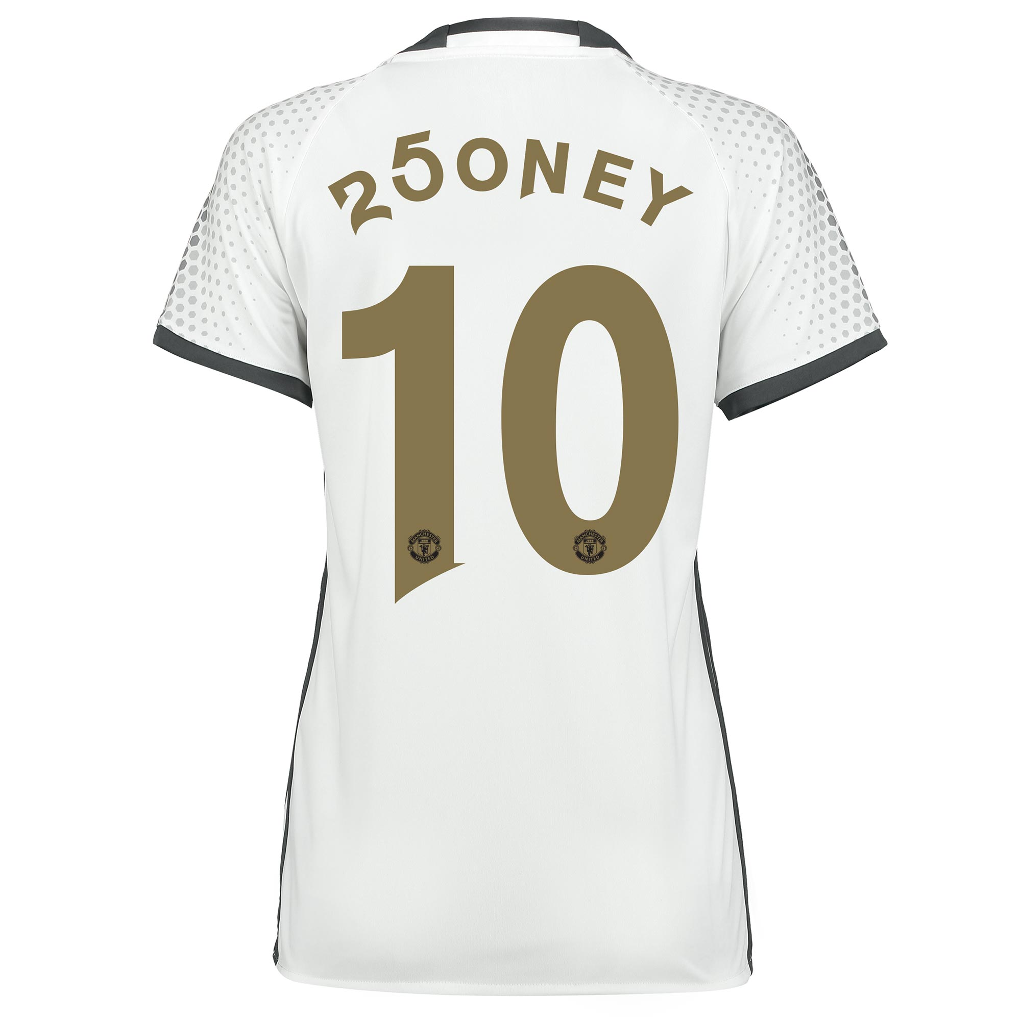 Manchester United Third Shirt 2016-17 - Womens with 250ney 10 printing