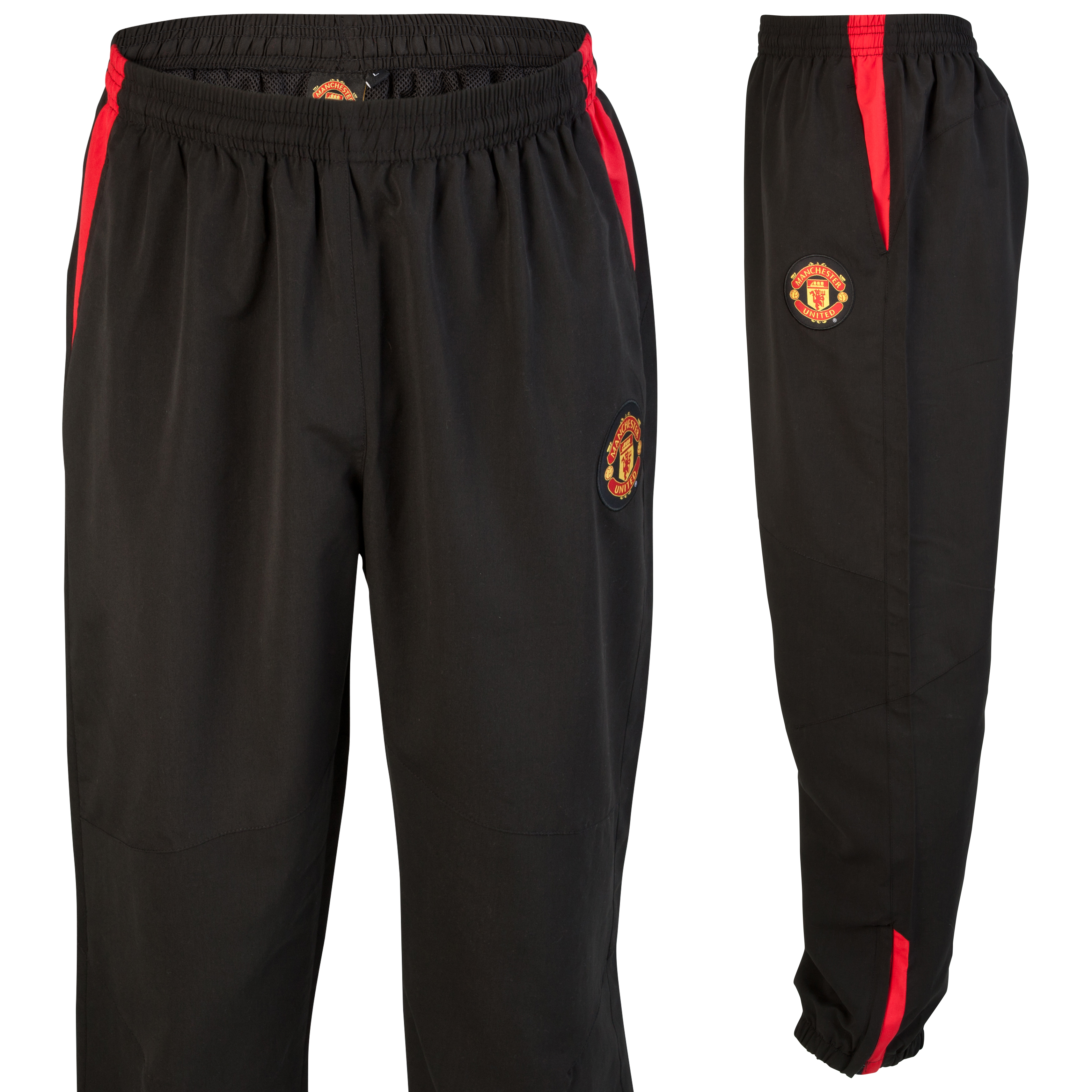Manchester United Track Pant - Black - Older Boys