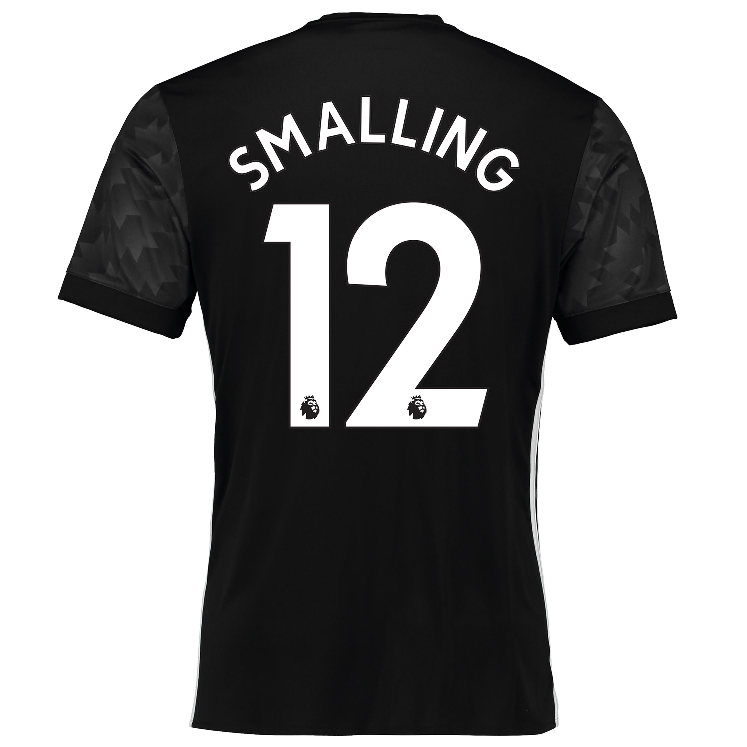 Manchester United Away Shirt 2017-18 with Smalling 12 printing