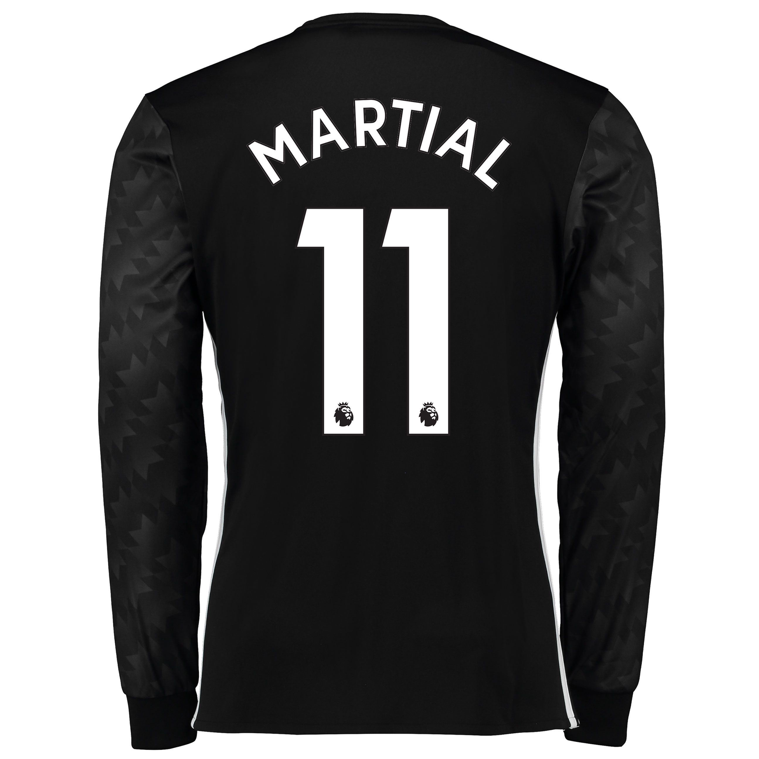 Manchester United Away Shirt 2017-18 - Long Sleeve with Martial 11 pri