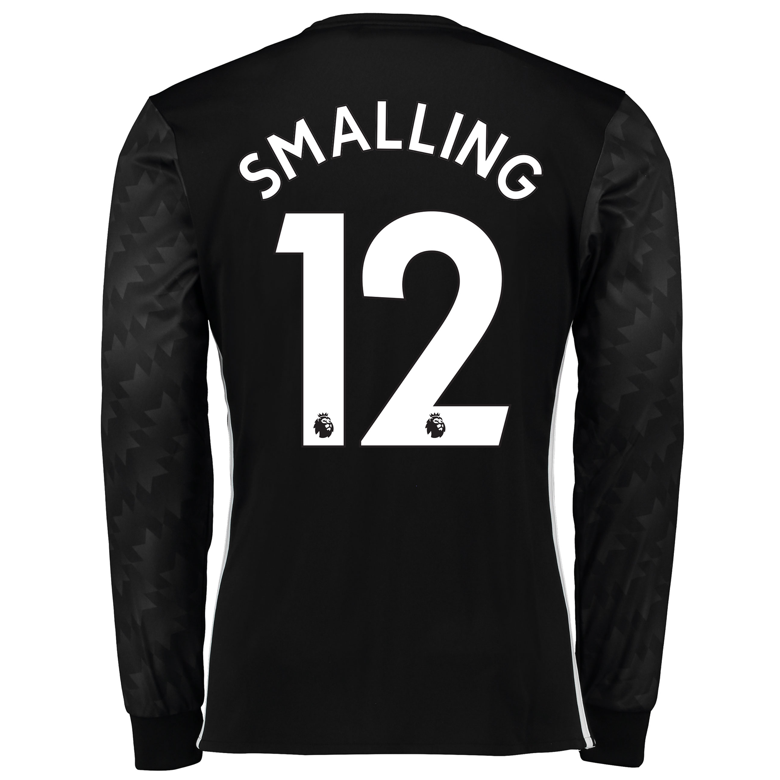 Manchester United Away Shirt 2017-18 - Long Sleeve with Smalling 12 pr