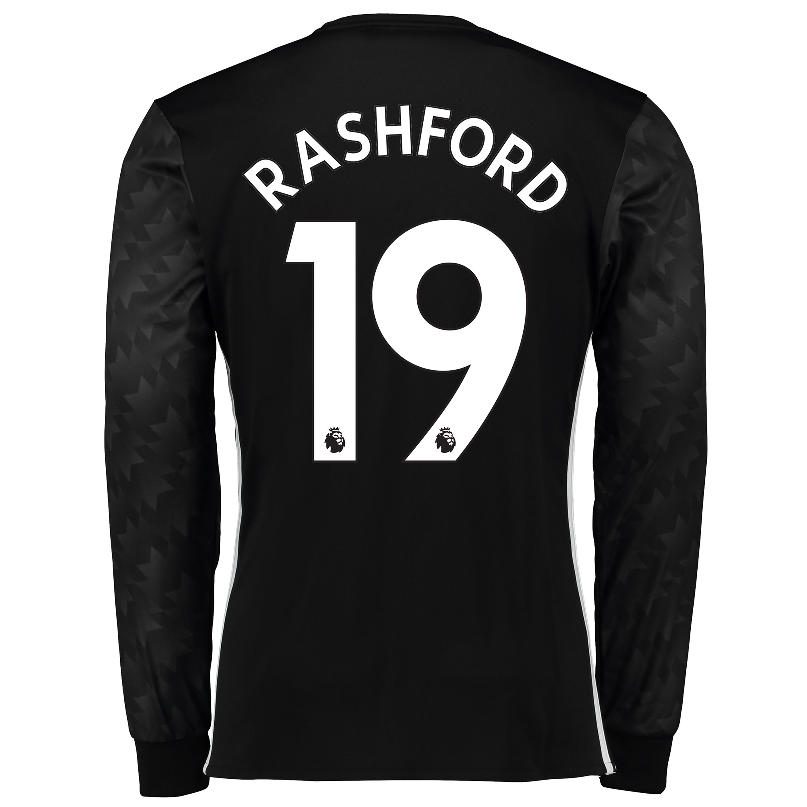 Manchester United Away Shirt 2017-18 - Long Sleeve with Rashford 19 pr