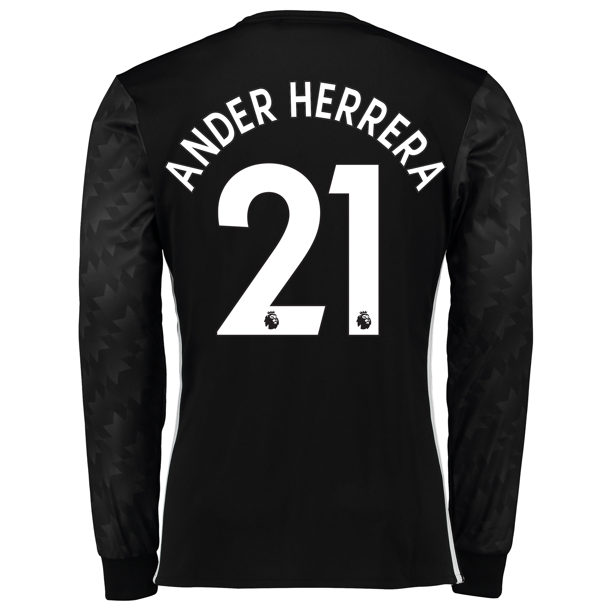 Manchester United Away Shirt 2017-18 - Long Sleeve with Ander Herrera