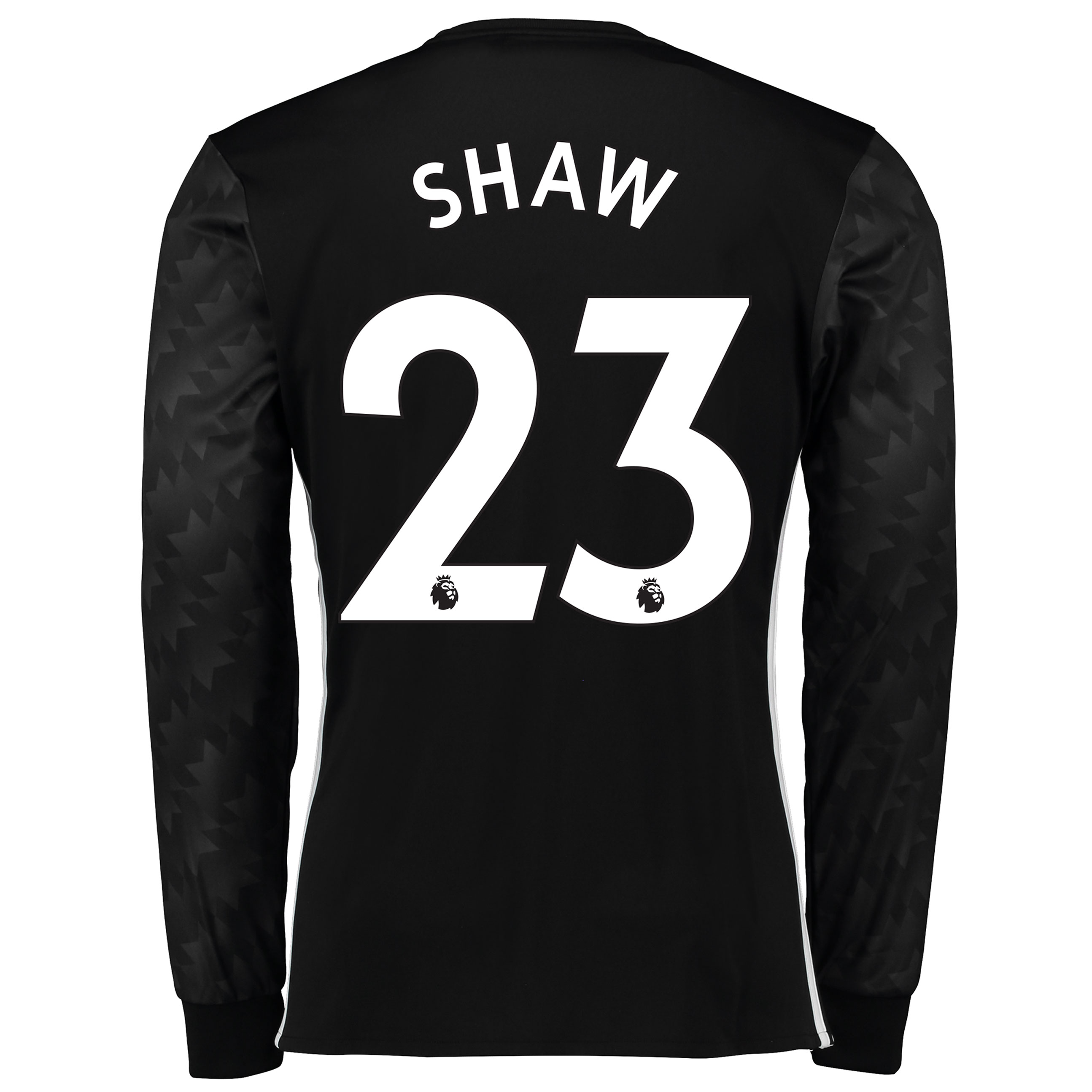 Manchester United Away Shirt 2017-18 - Long Sleeve with Shaw 23 printi