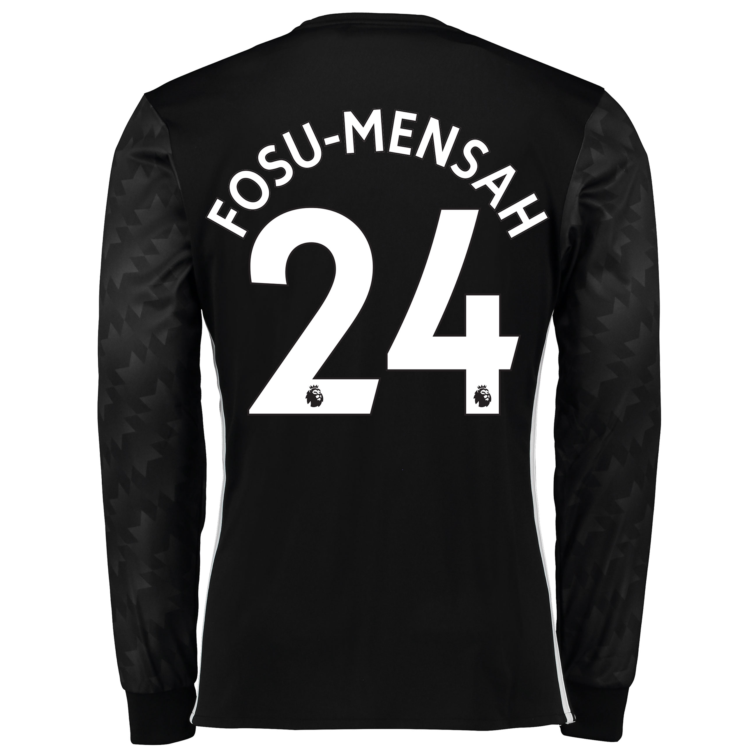 Manchester United Away Shirt 2017-18 - Long Sleeve with Fosu-Mensah 24