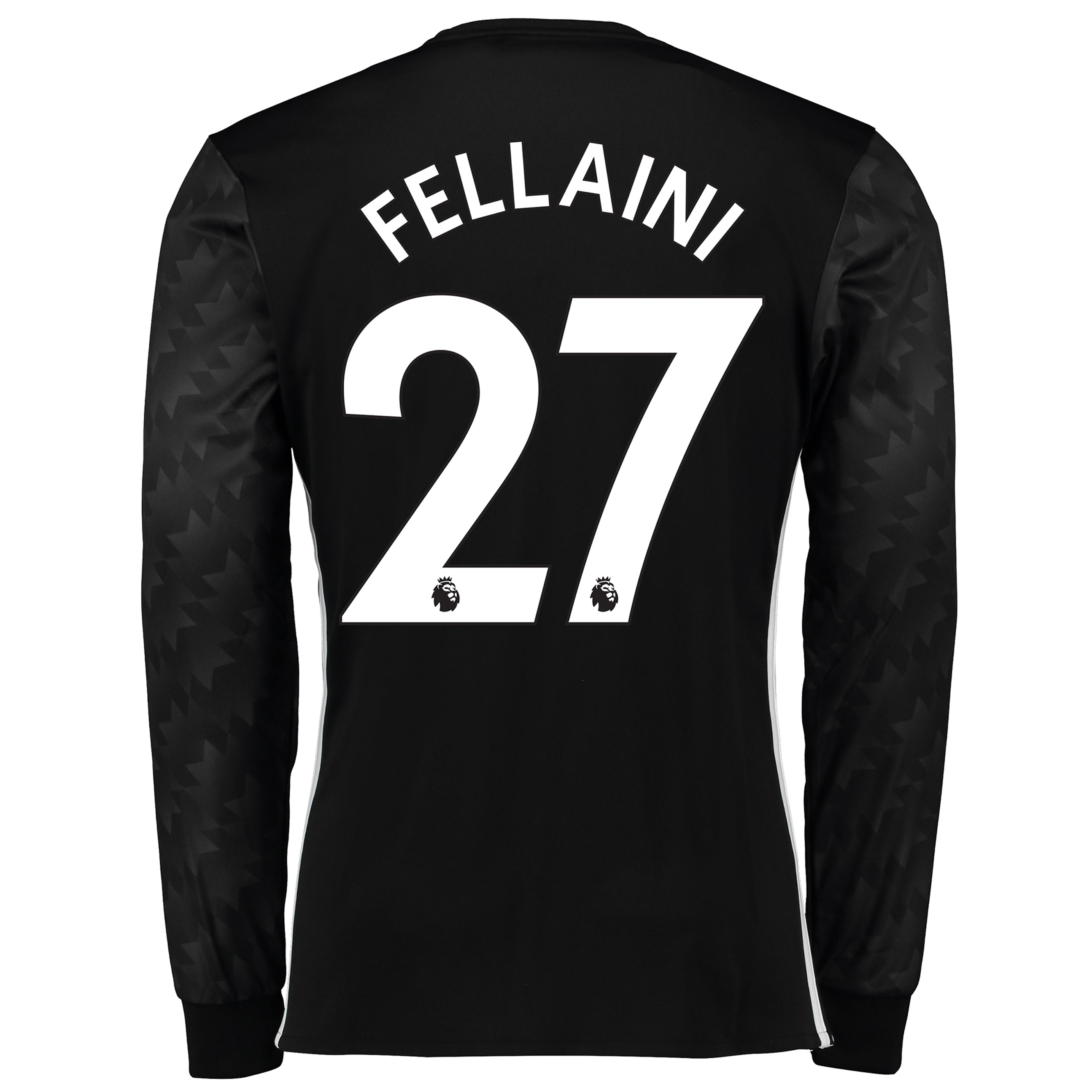 Manchester United Away Shirt 2017-18 - Long Sleeve with Fellaini 27 pr