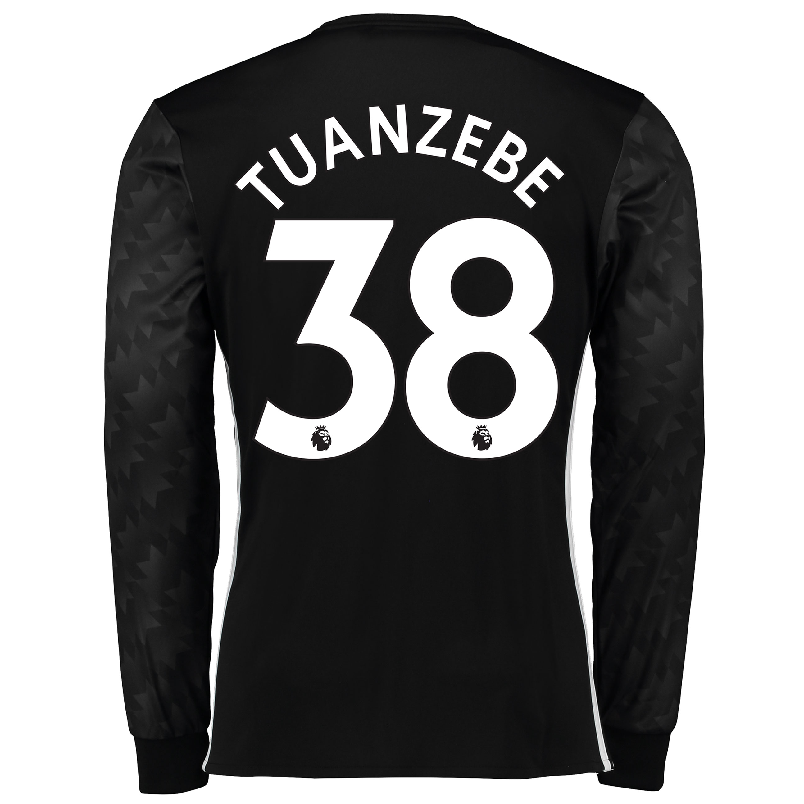 Manchester United Away Shirt 2017-18 - Long Sleeve with Tuanzebe 38 pr