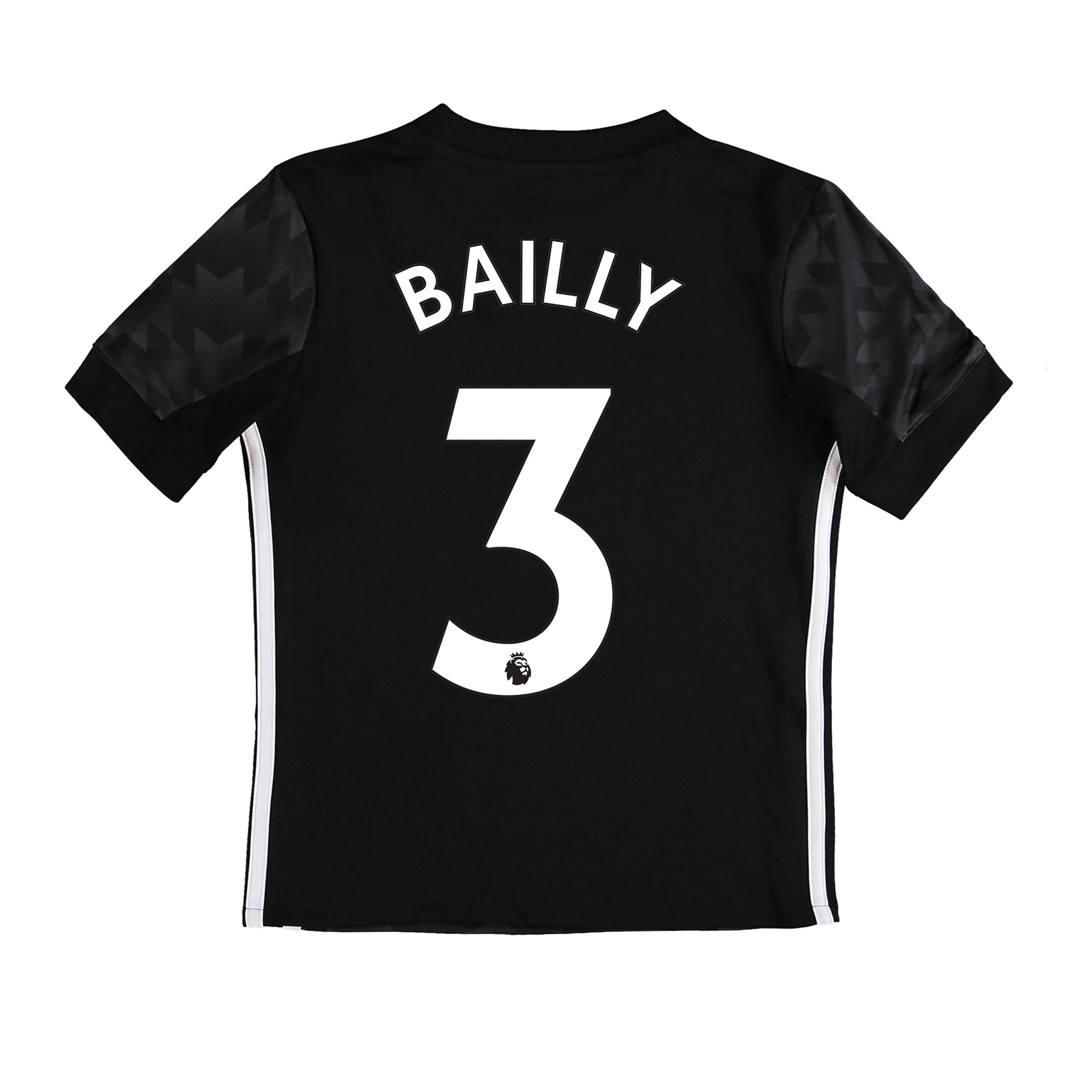 Manchester United Away Shirt 2017-18 - Kids with Bailly 3 printing