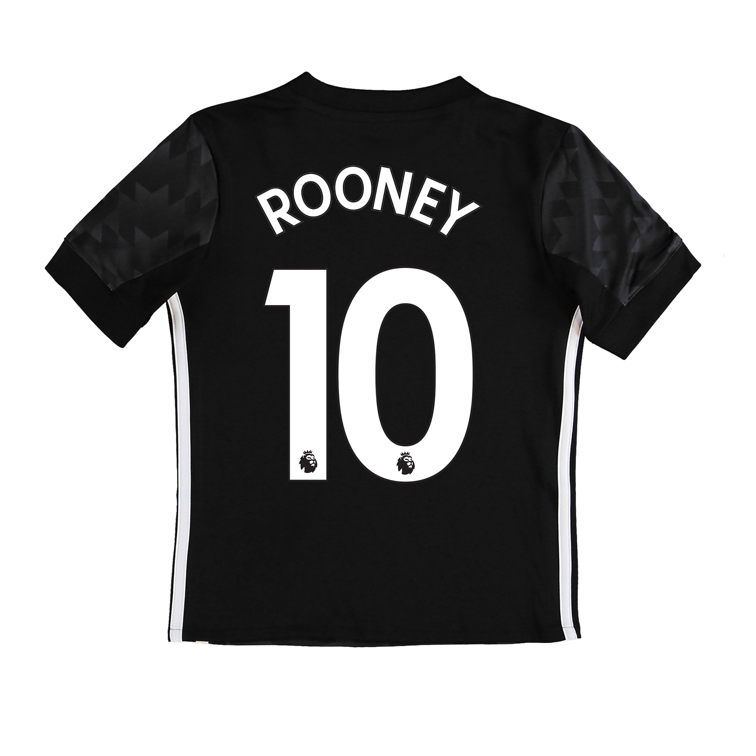Manchester United Away Shirt 2017-18 - Kids with Rooney 10 printing