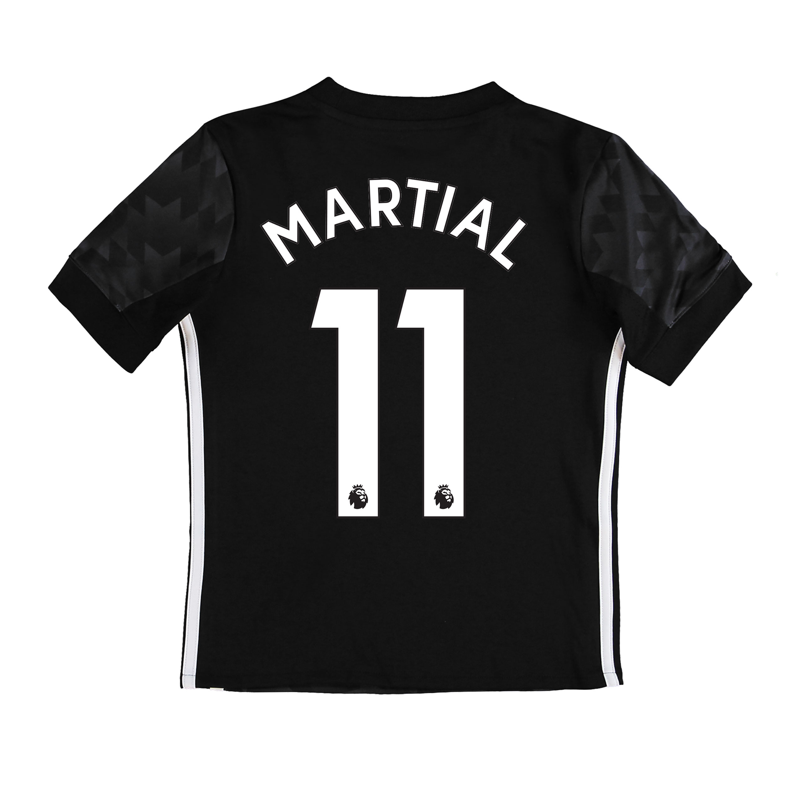 Manchester United Away Shirt 2017-18 - Kids with Martial 11 printing
