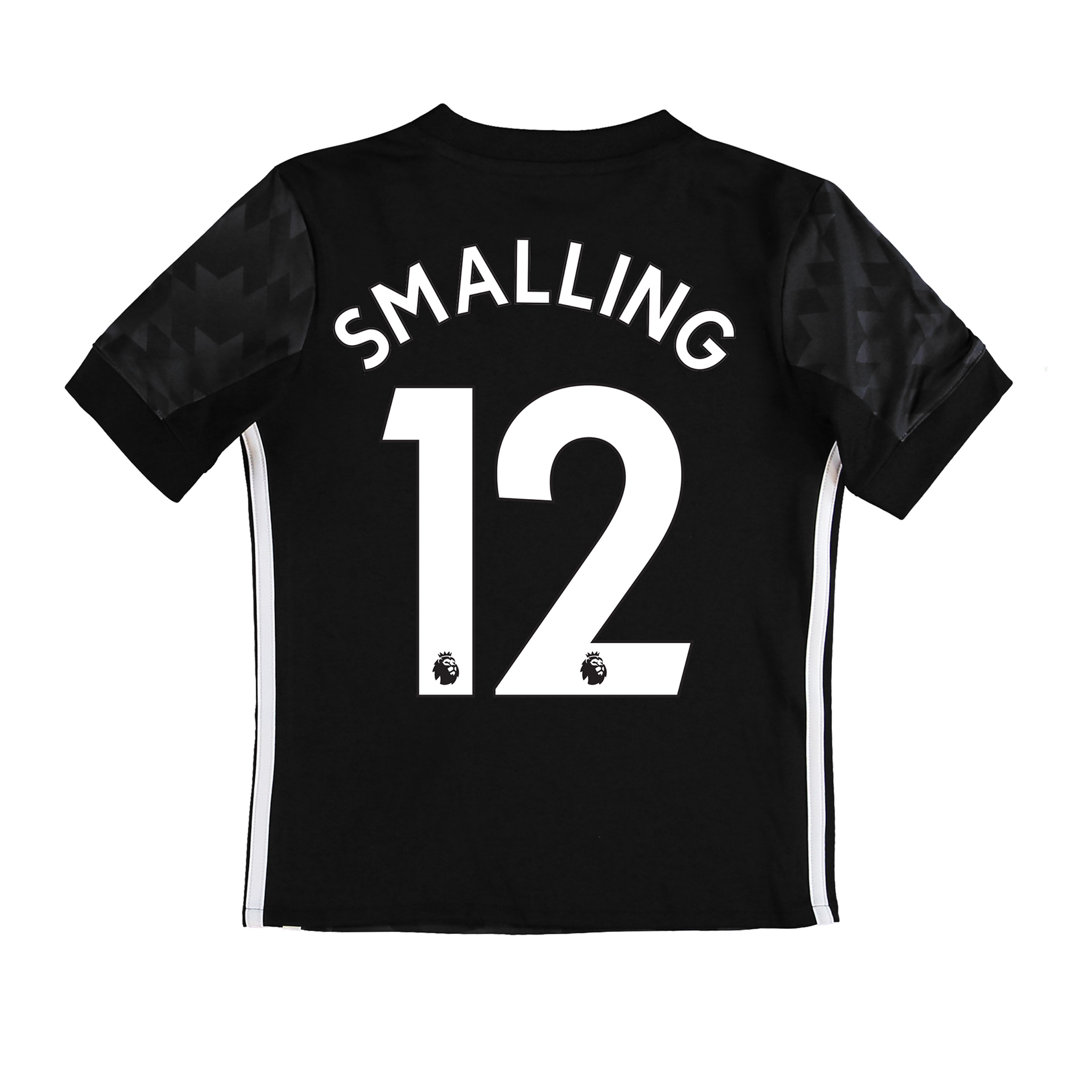 Manchester United Away Shirt 2017-18 - Kids with Smalling 12 printing