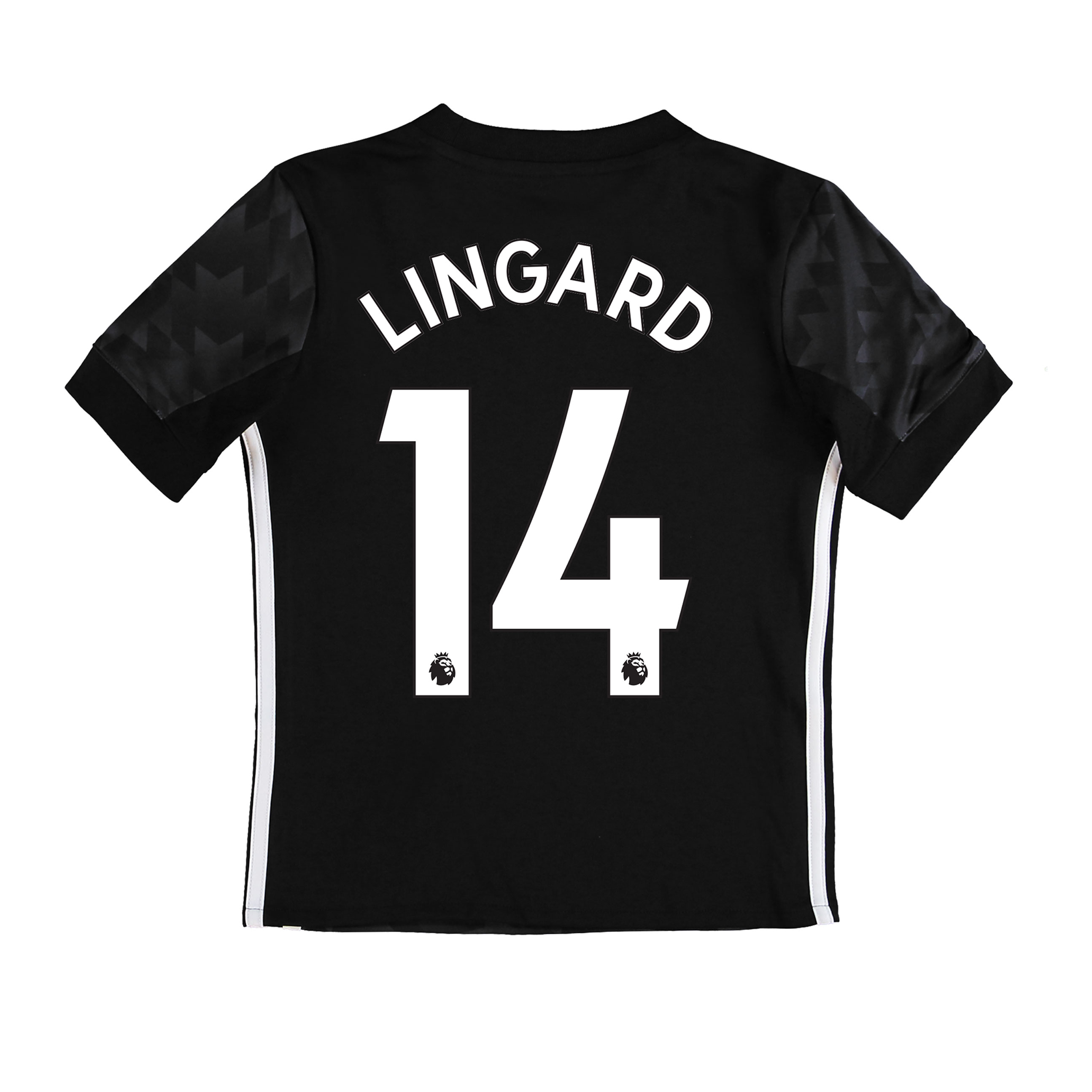 Manchester United Away Shirt 2017-18 - Kids with Lingard 14 printing