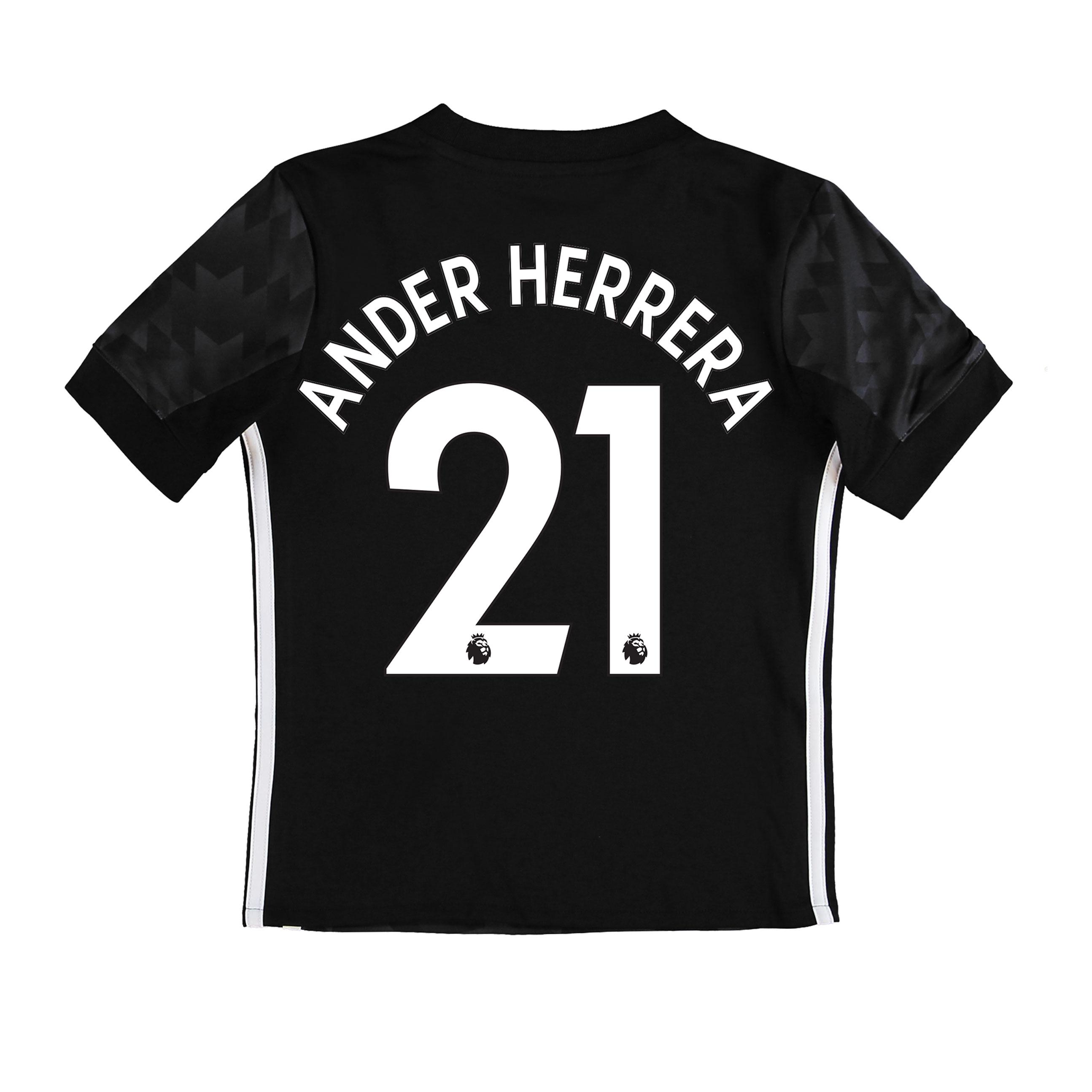 Manchester United Away Shirt 2017-18 - Kids with Ander Herrera 21 prin