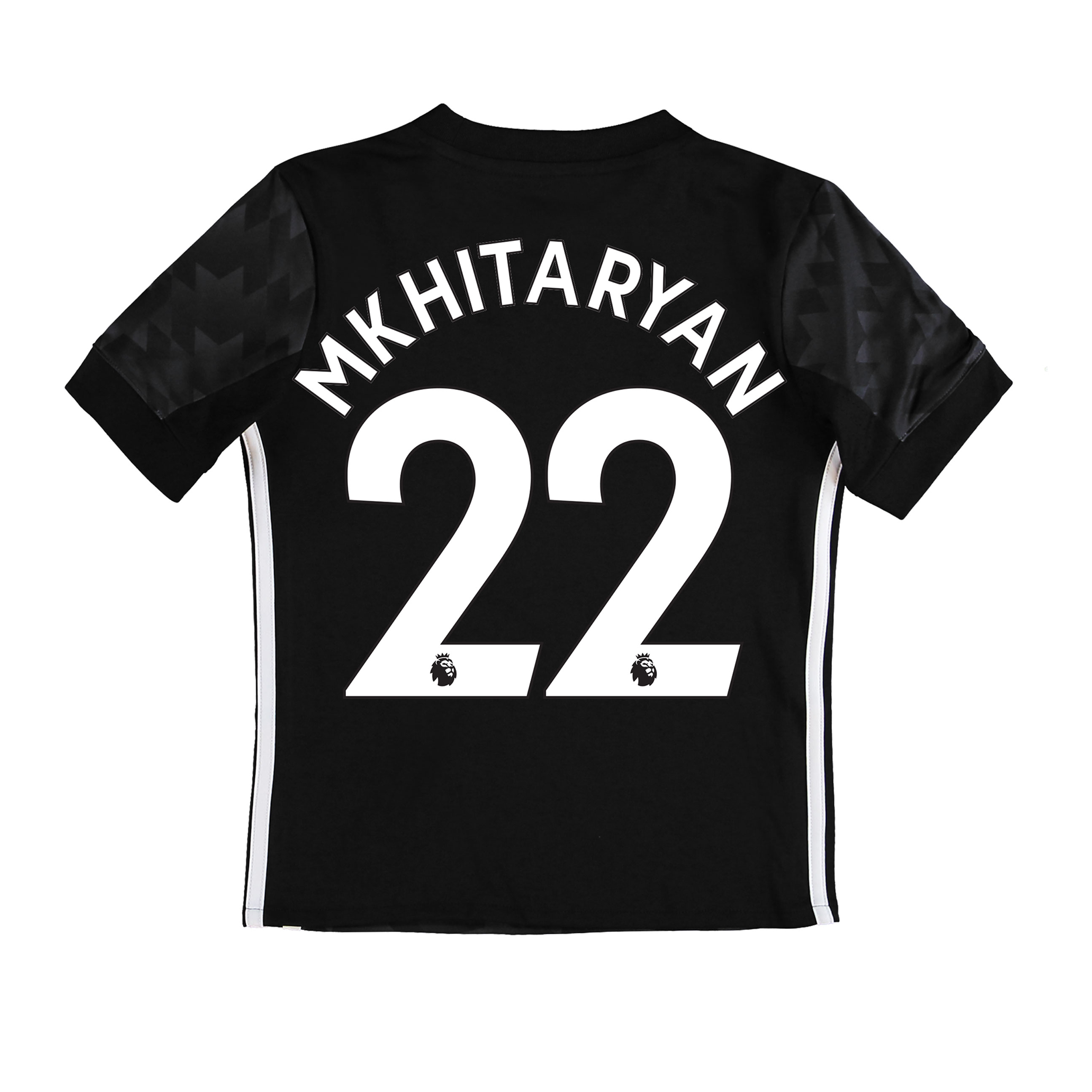 Manchester United Away Shirt 2017-18 - Kids with Mkhitaryan 22 printin