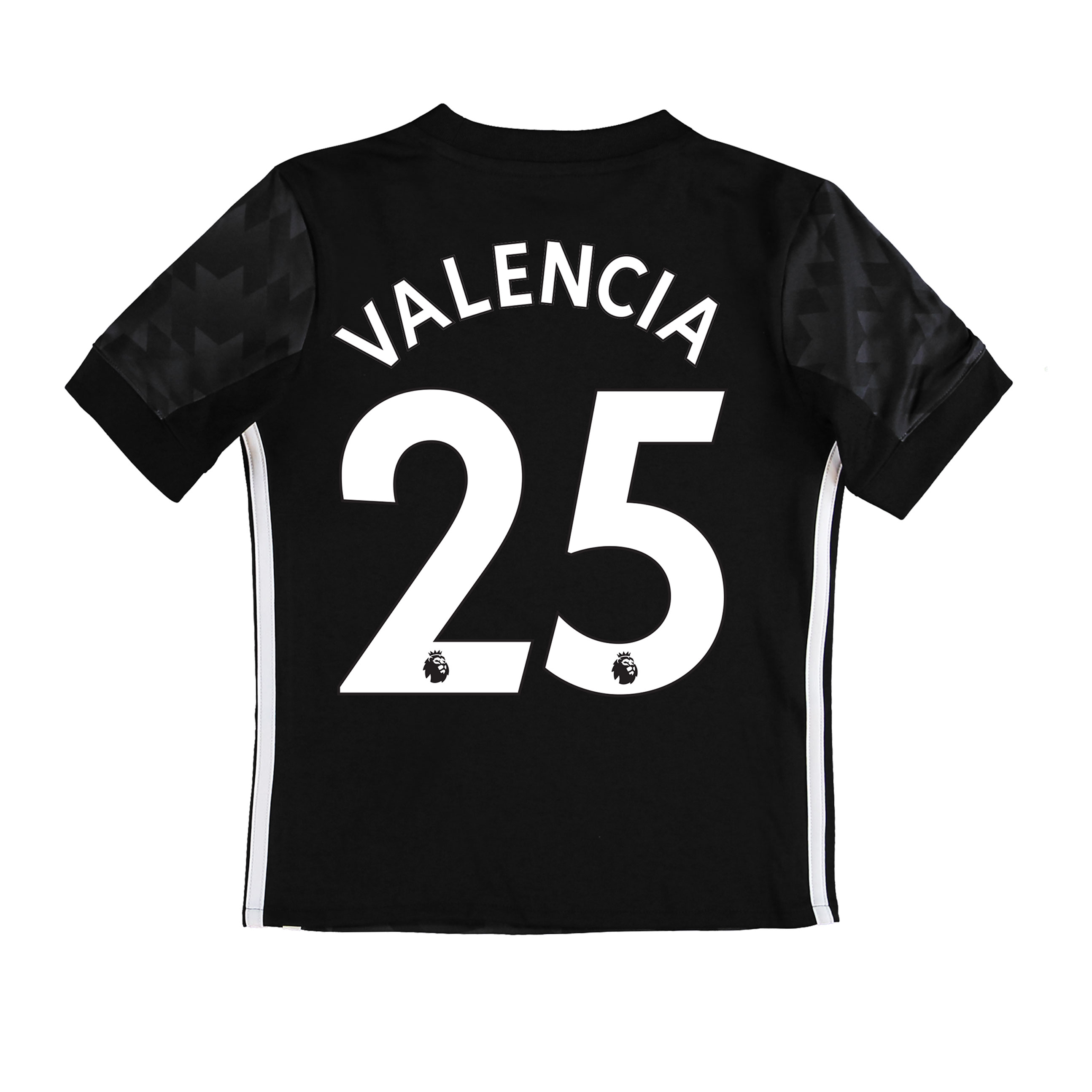 Manchester United Away Shirt 2017-18 - Kids with Valencia 25 printing