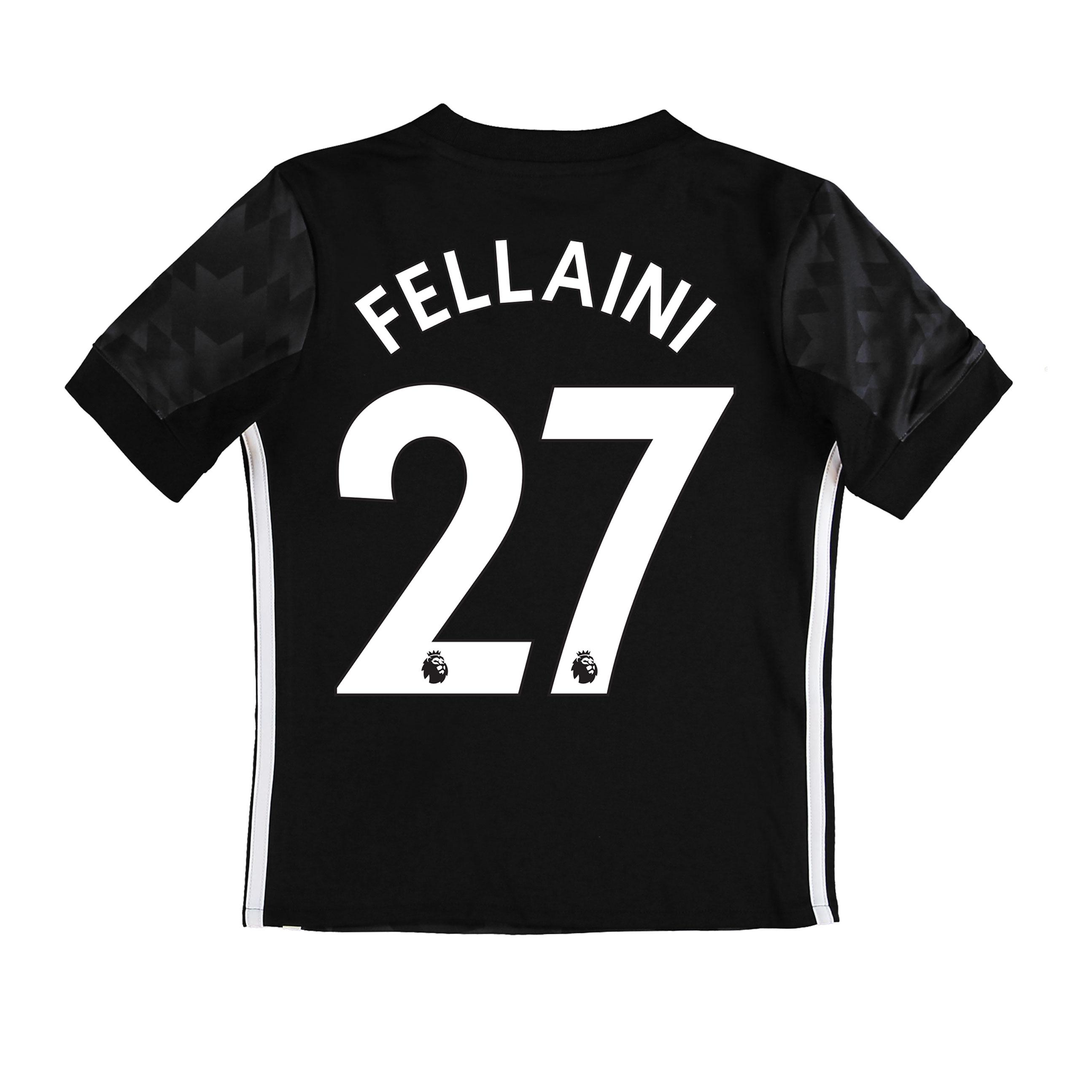 Manchester United Away Shirt 2017-18 - Kids with Fellaini 27 printing