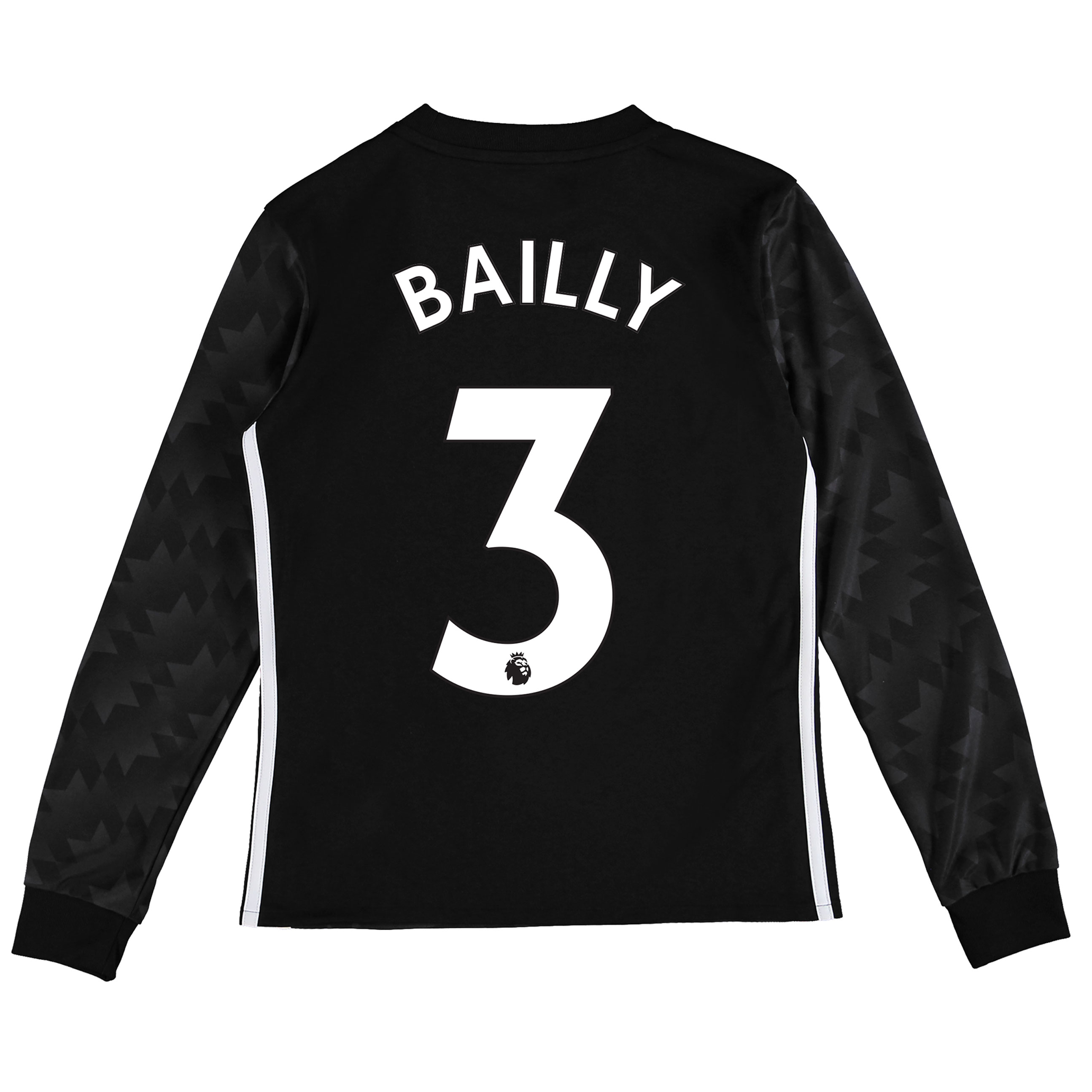 Manchester United Away Shirt 2017-18 - Kids - Long Sleeve with Bailly