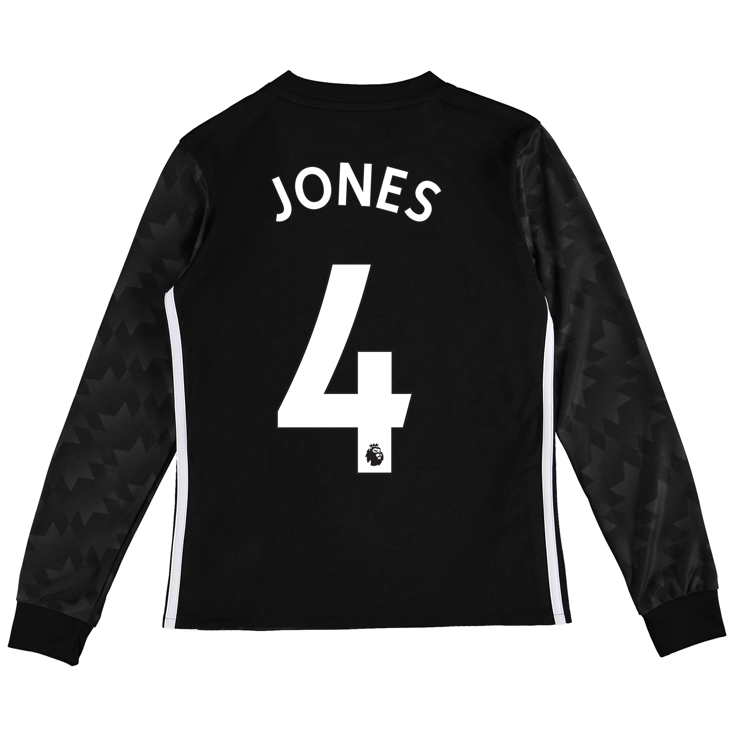 Manchester United Away Shirt 2017-18 - Kids - Long Sleeve with Jones 4