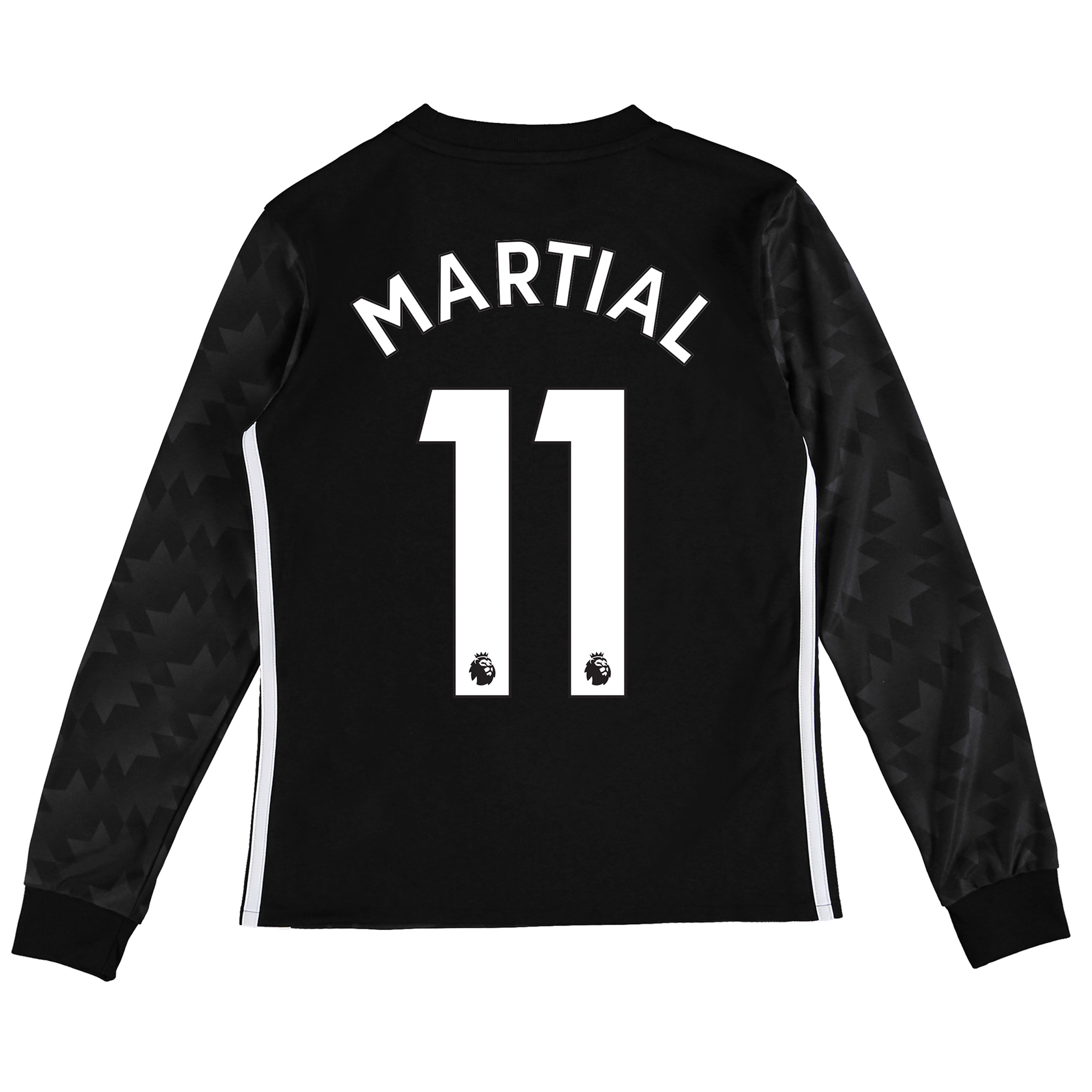 Manchester United Away Shirt 2017-18 - Kids - Long Sleeve with Martial