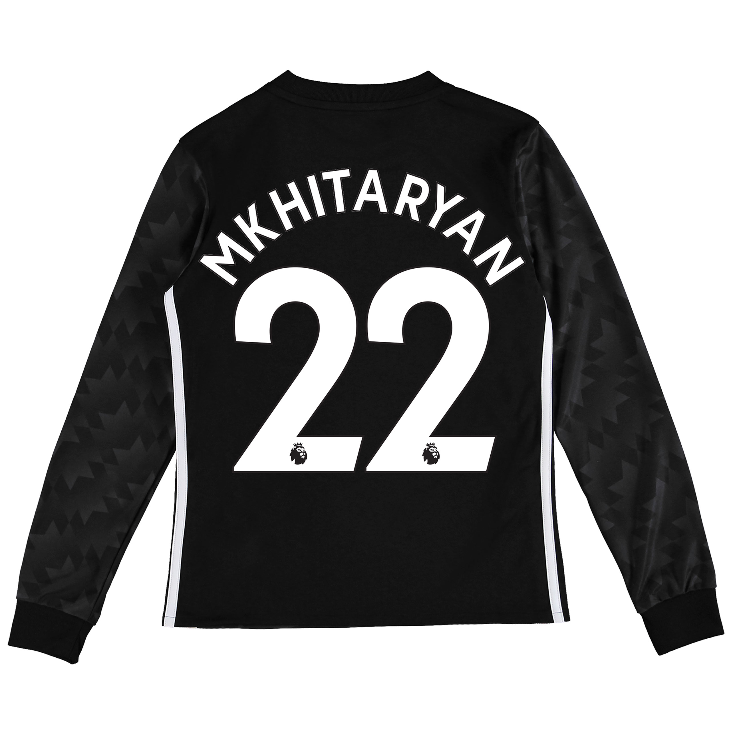 Manchester United Away Shirt 2017-18 - Kids - Long Sleeve with Mkhitar