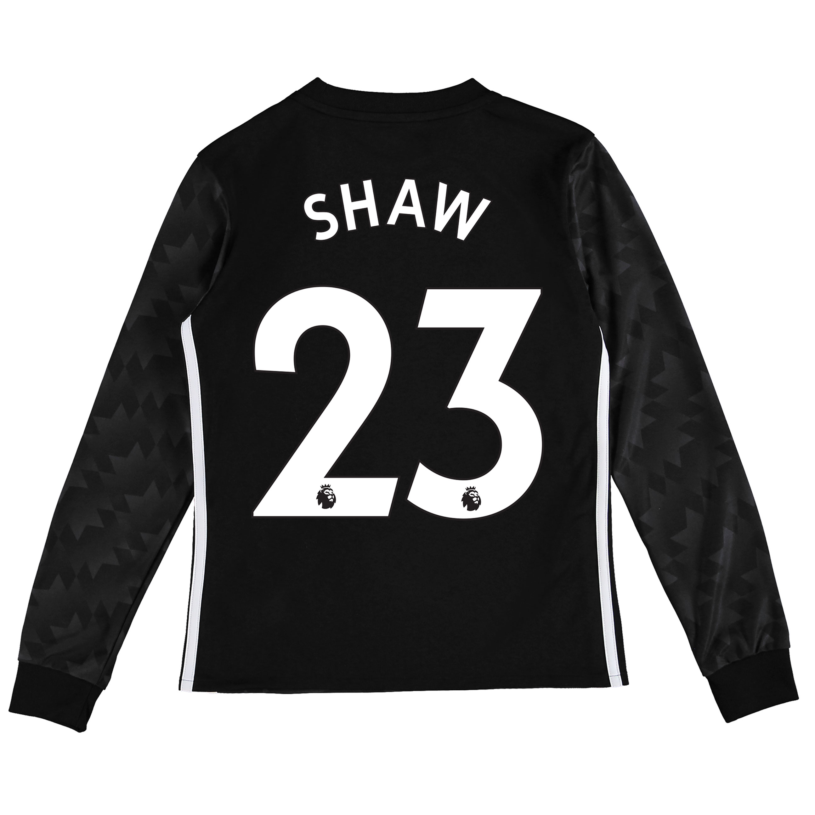 Manchester United Away Shirt 2017-18 - Kids - Long Sleeve with Shaw 23