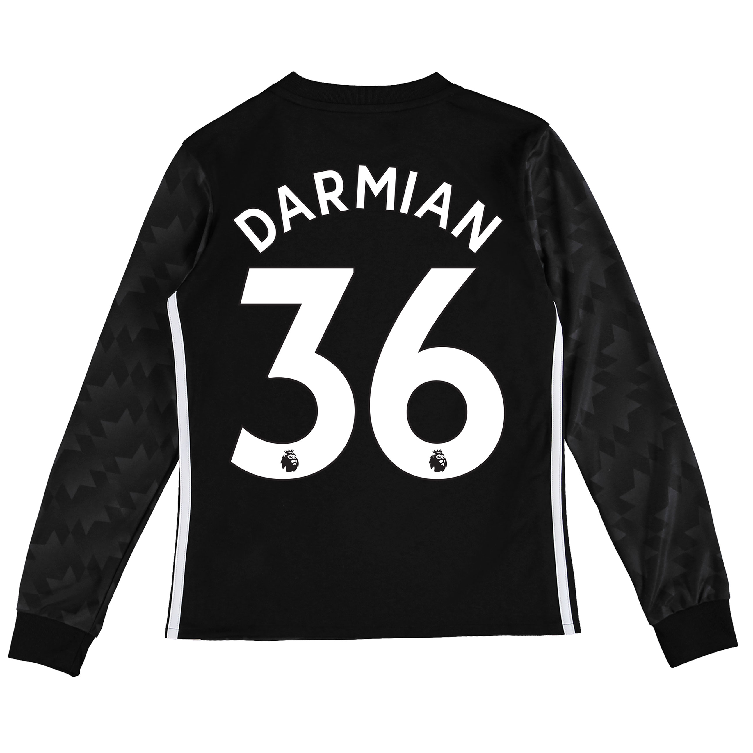 Manchester United Away Shirt 2017-18 - Kids - Long Sleeve with Darmian