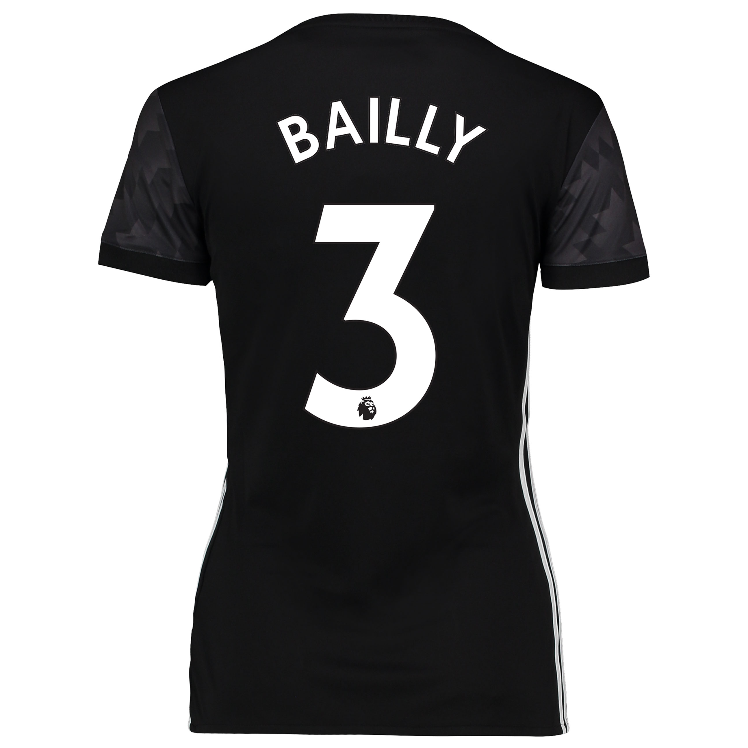 Manchester United Away Shirt 2017-18 - Womens with Bailly 3 printing