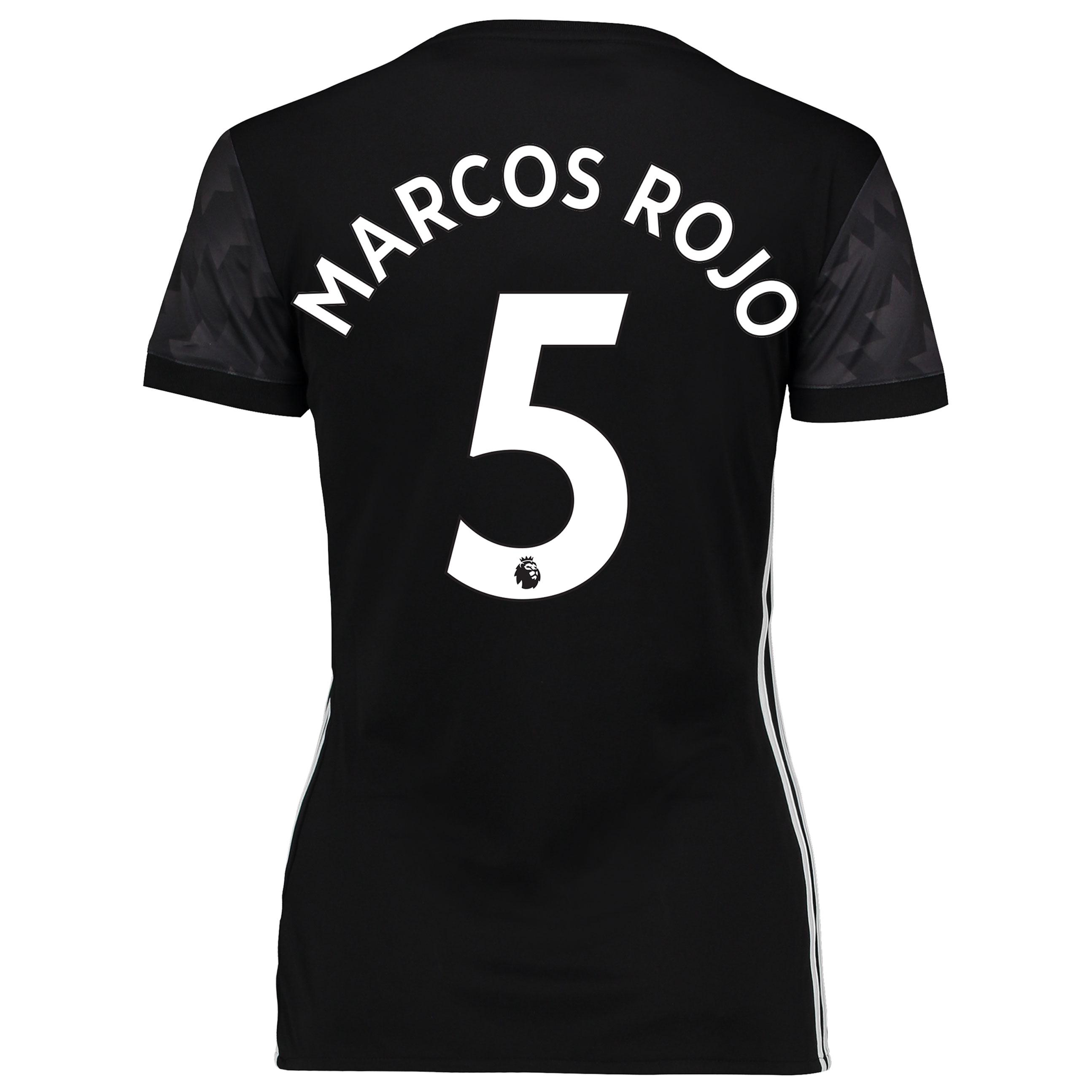 Manchester United Away Shirt 2017-18 - Womens with Marcos Rojo 5 print