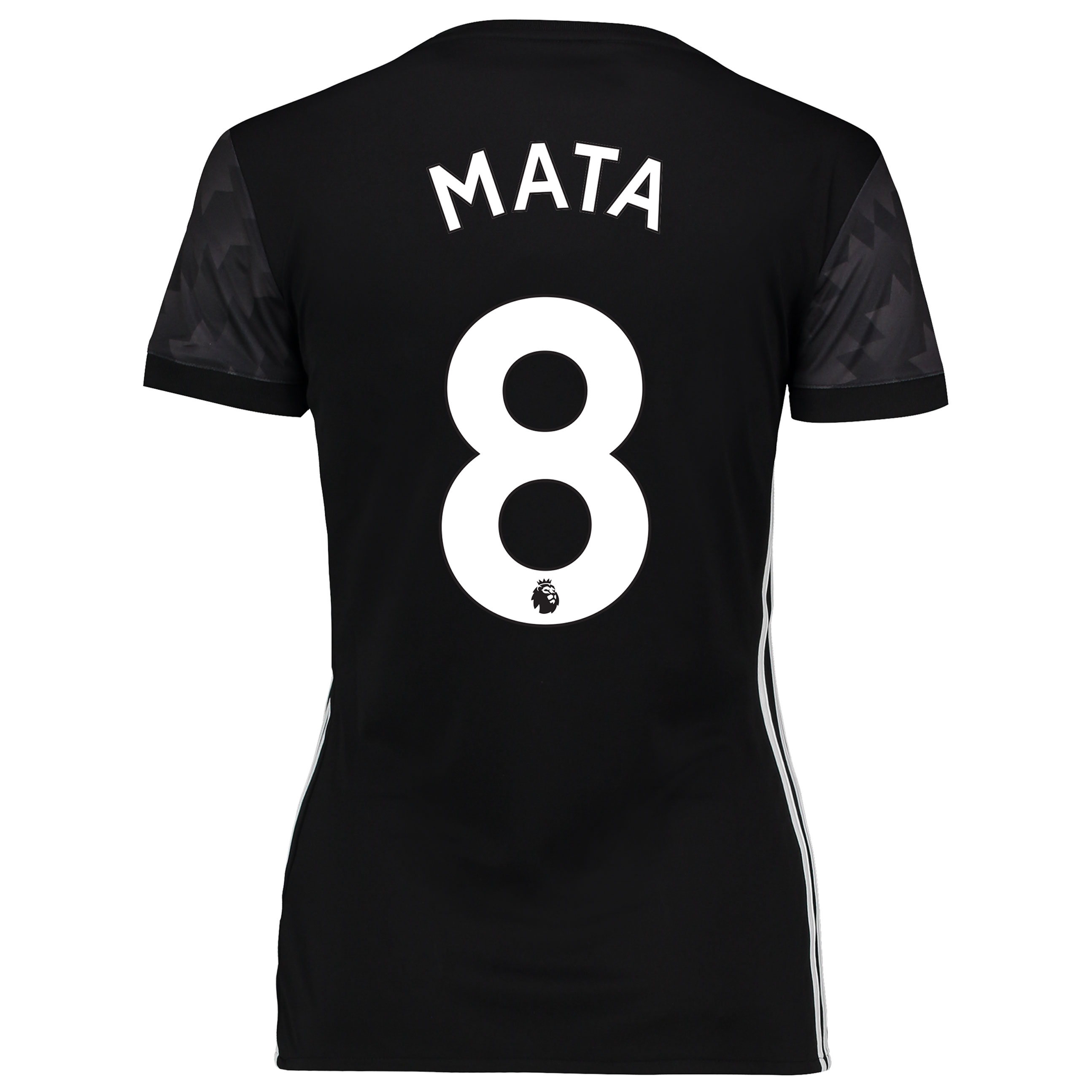 Manchester United Away Shirt 2017-18 - Womens with Mata 8 printing