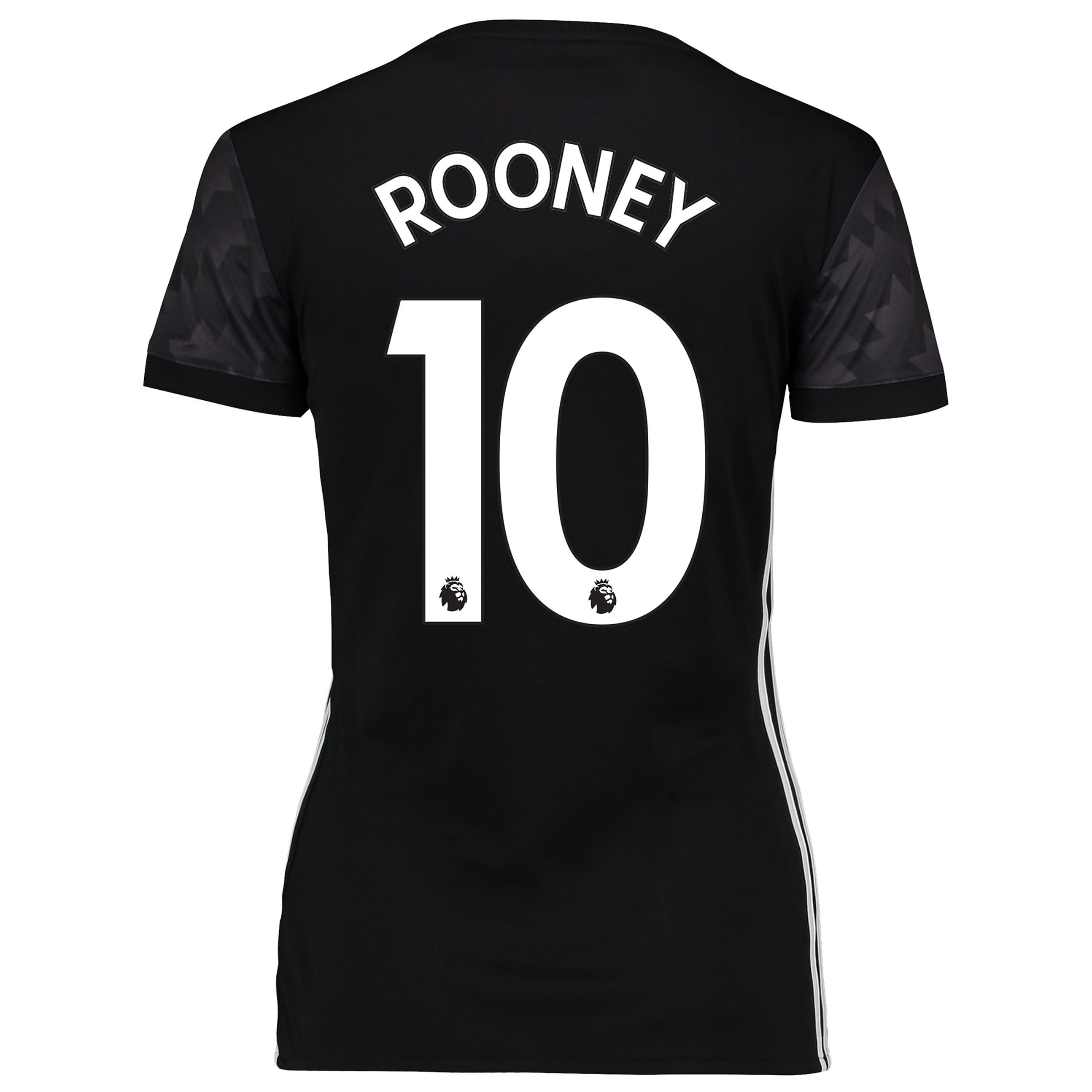 Manchester United Away Shirt 2017-18 - Womens with Rooney 10 printing