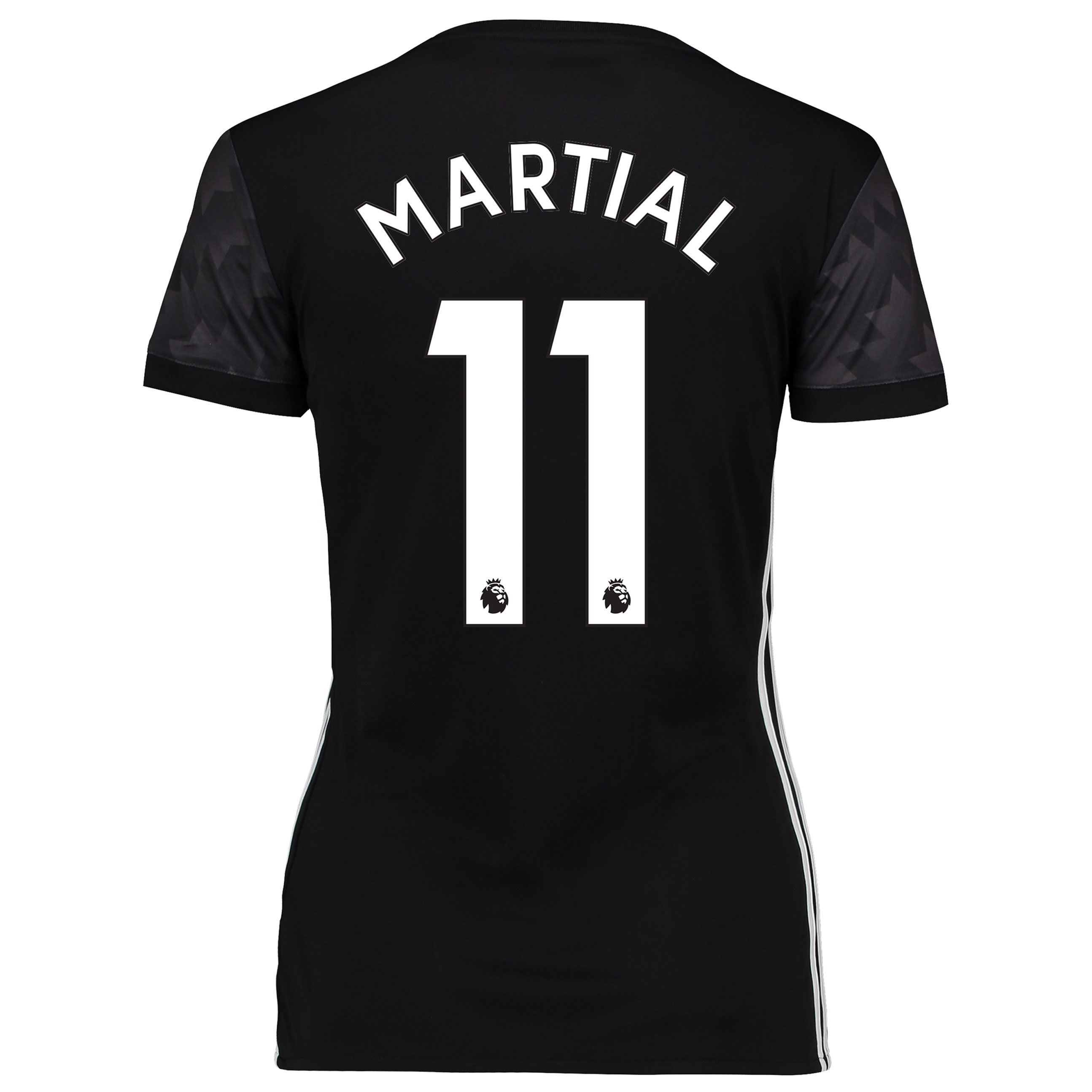 Manchester United Away Shirt 2017-18 - Womens with Martial 11 printing