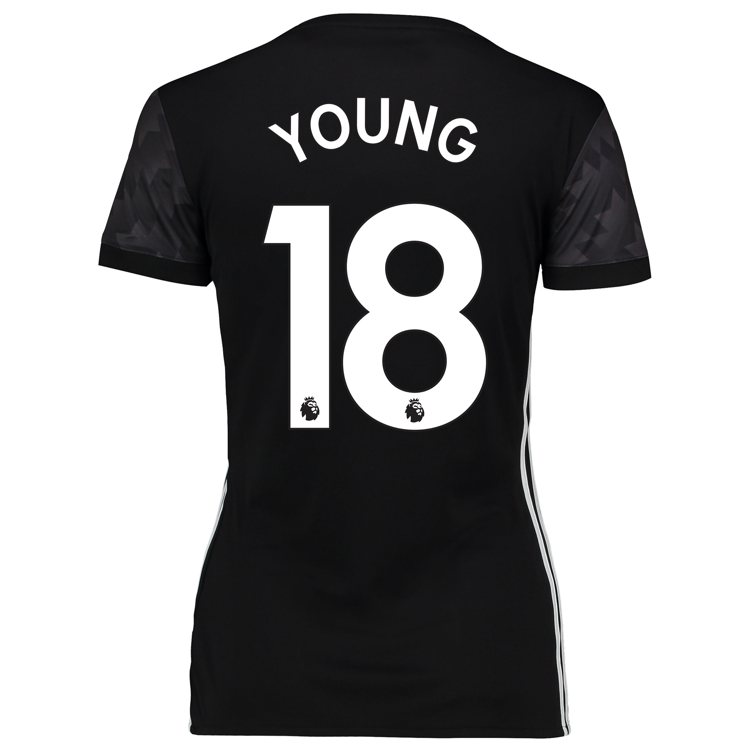 Manchester United Away Shirt 2017-18 - Womens with Young 18 printing
