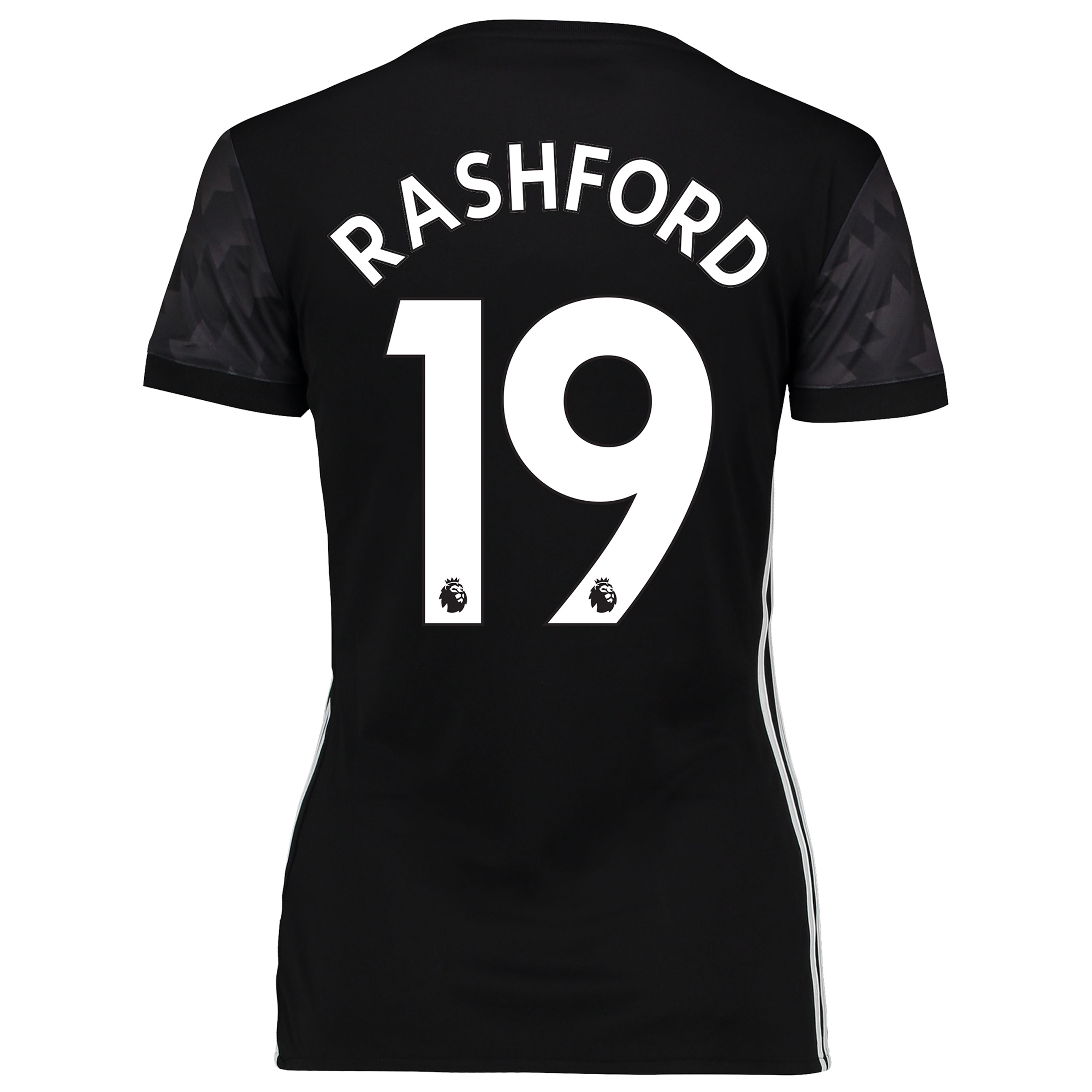 Manchester United Away Shirt 2017-18 - Womens with Rashford 19 printin
