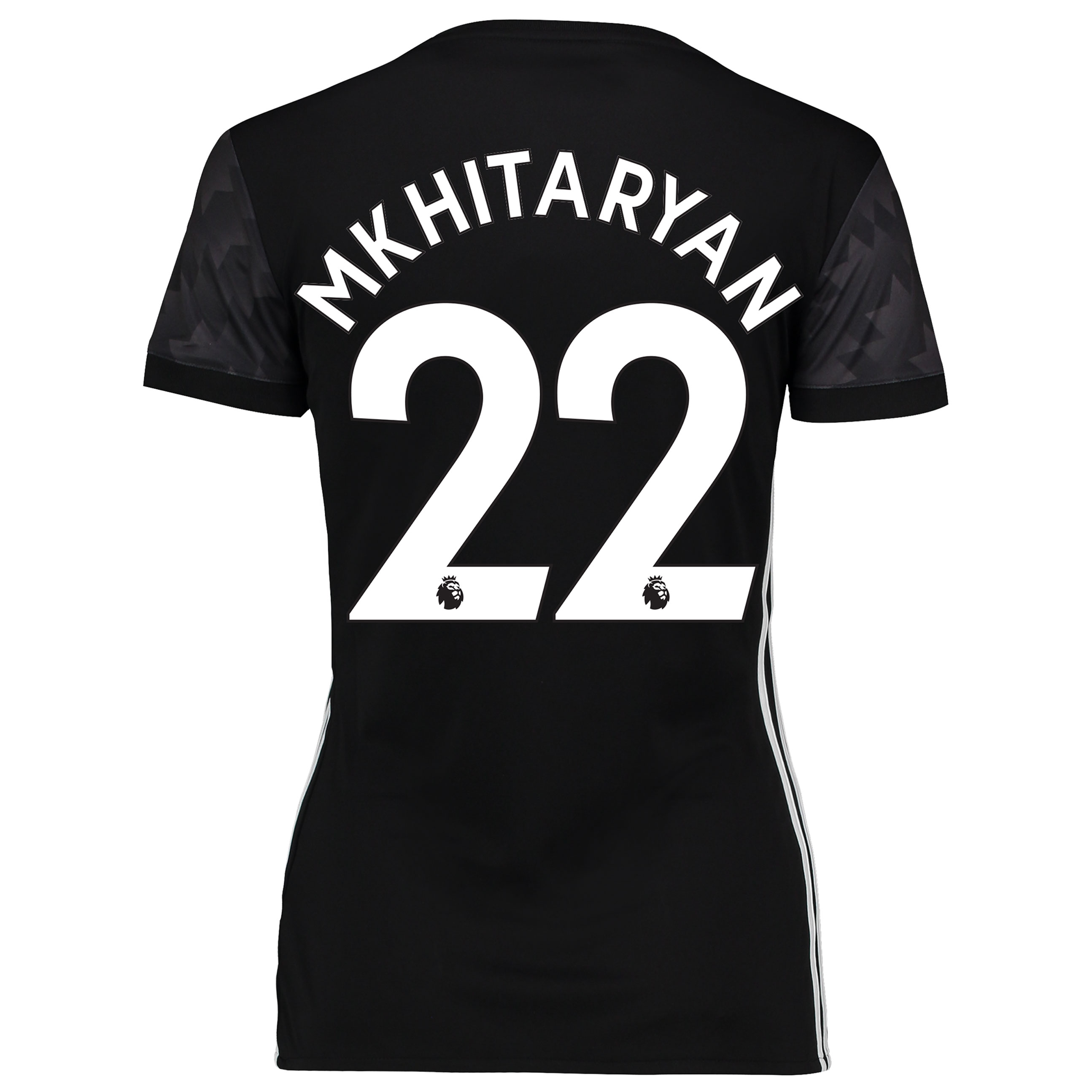 Manchester United Away Shirt 2017-18 - Womens with Mkhitaryan 22 print