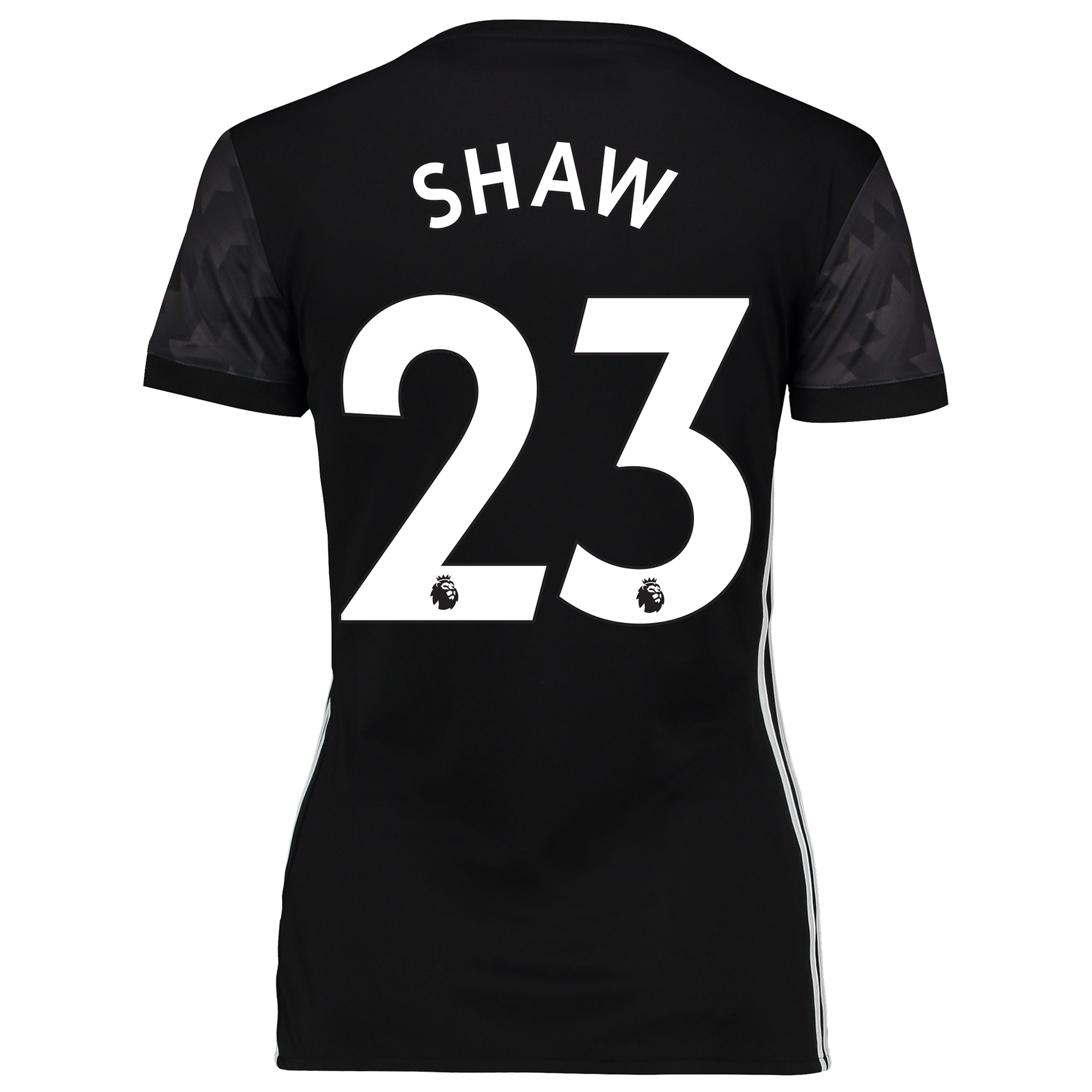 Manchester United Away Shirt 2017-18 - Womens with Shaw 23 printing
