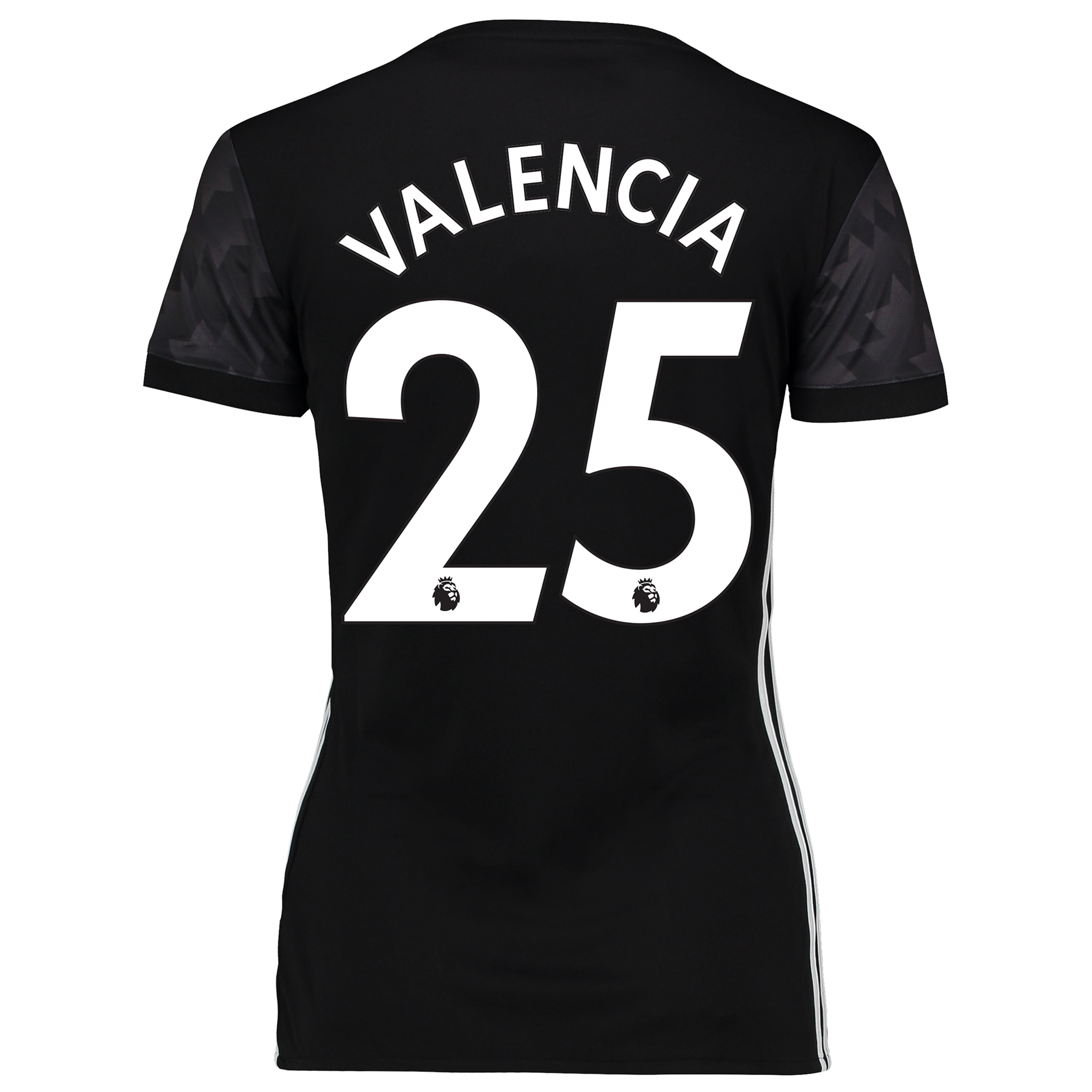 Manchester United Away Shirt 2017-18 - Womens with Valencia 25 printin