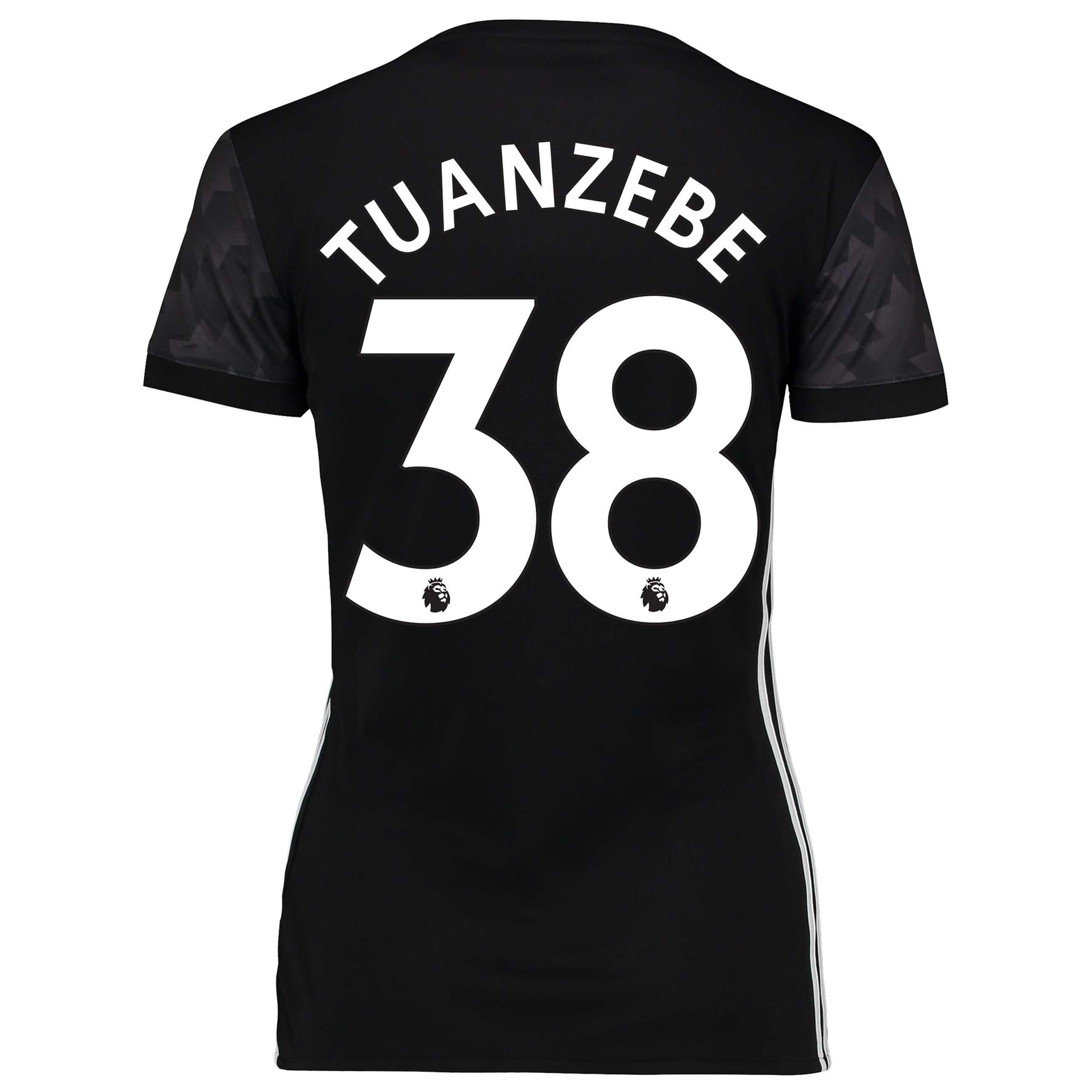 Manchester United Away Shirt 2017-18 - Womens with Tuanzebe 38 printin