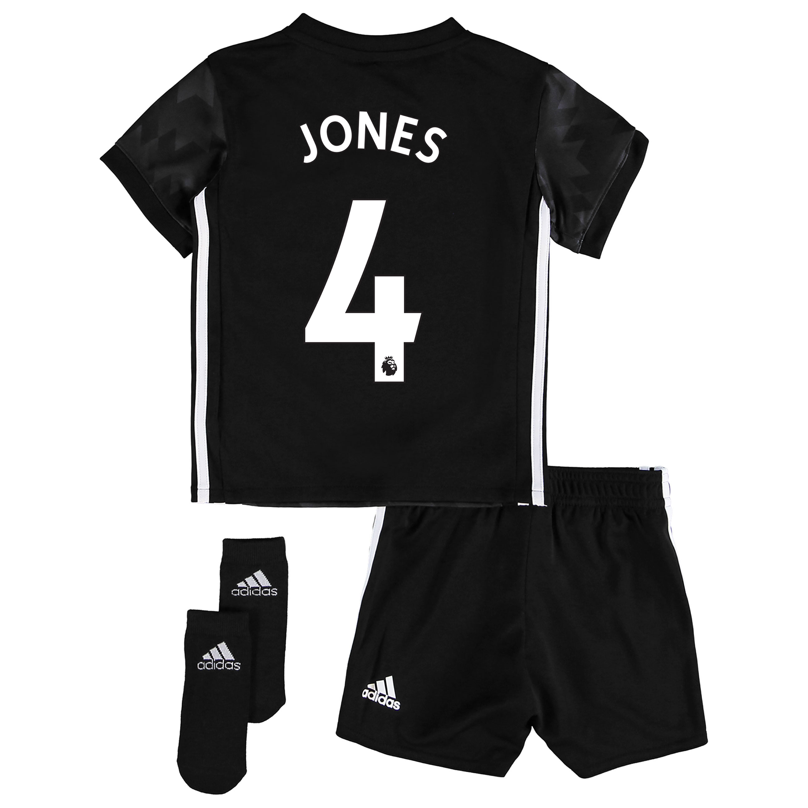 Manchester United Away Baby Kit 2017-18 with Jones 4 printing
