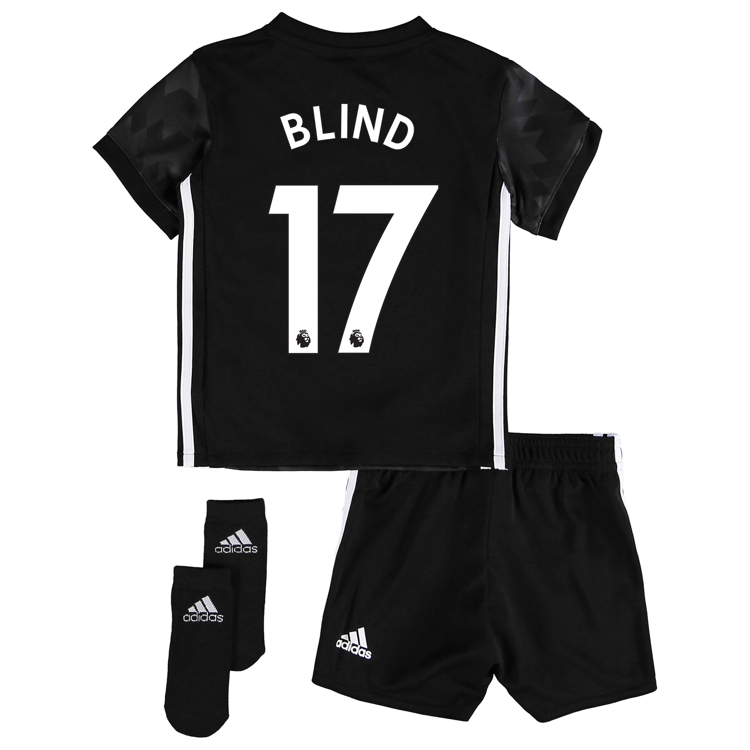 Manchester United Away Baby Kit 2017-18 with Blind 17 printing