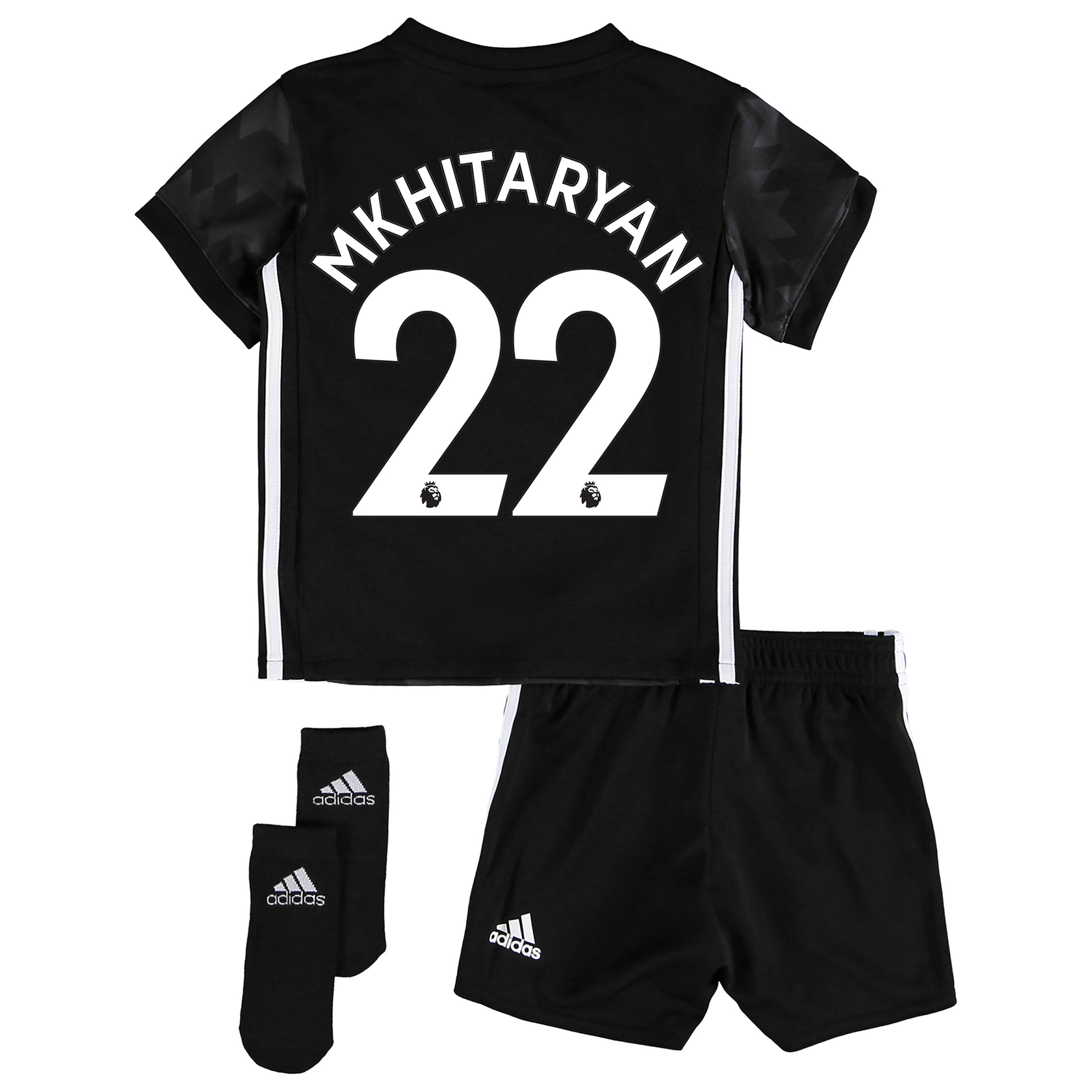 Manchester United Away Baby Kit 2017-18 with Mkhitaryan 22 printing
