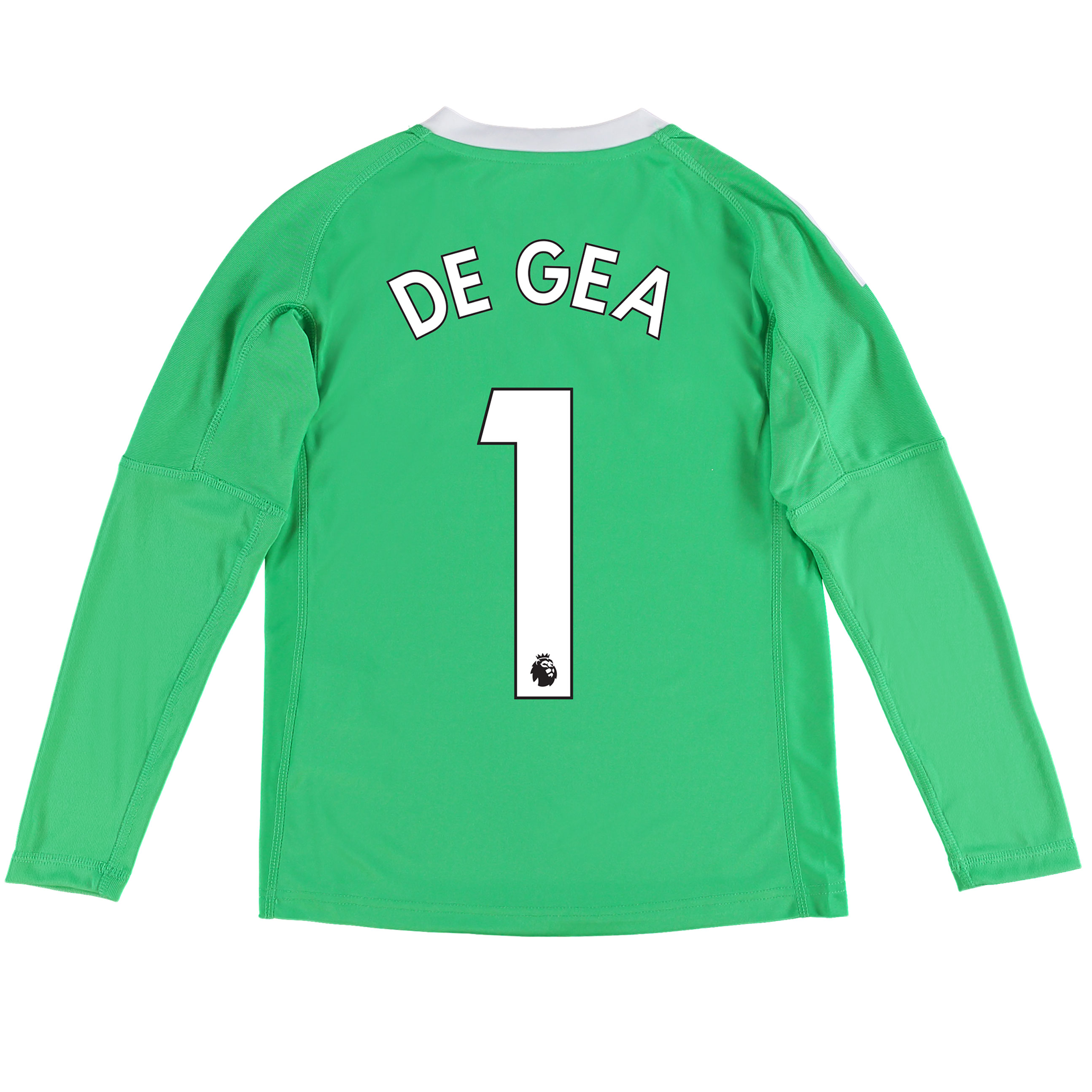 Manchester United Away Goalkeeper Shirt 2017-18 - Kids with De Gea 1 p