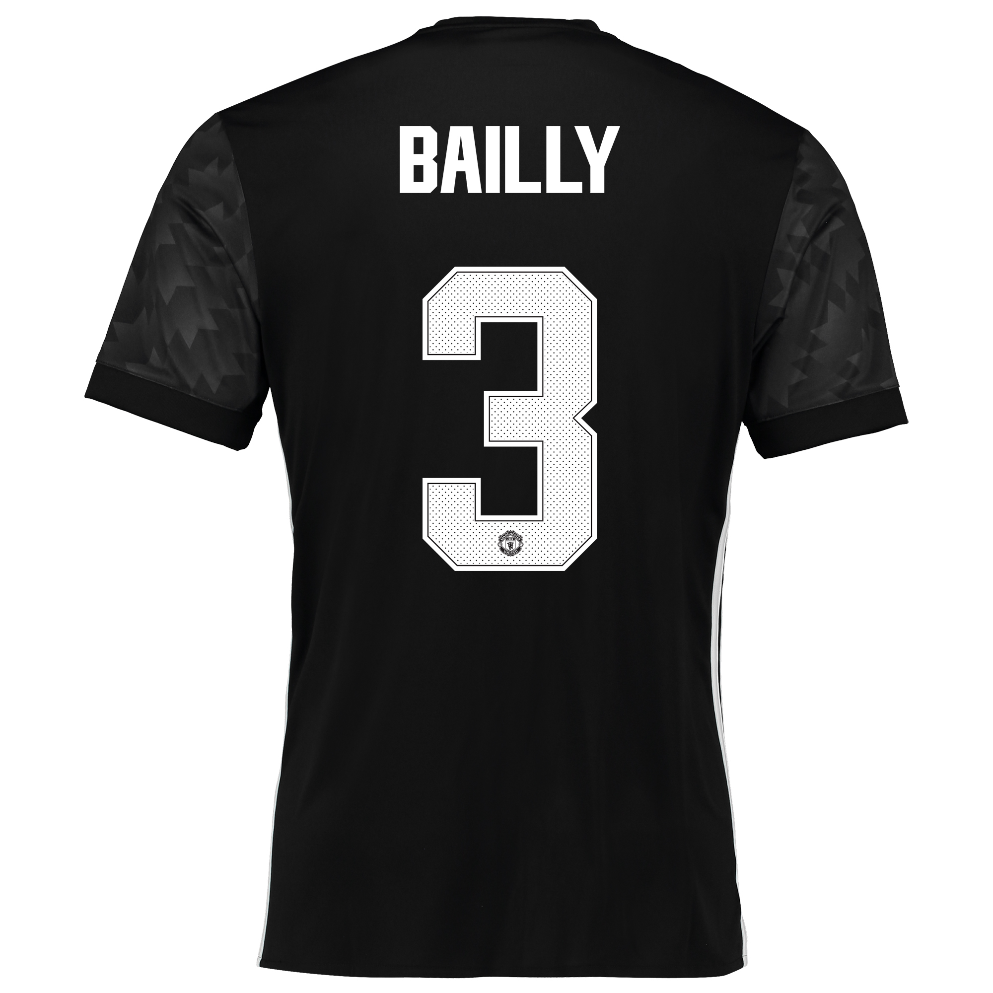 Image of Manchester United Away Cup Shirt 2017-18 with Bailly 3 printing