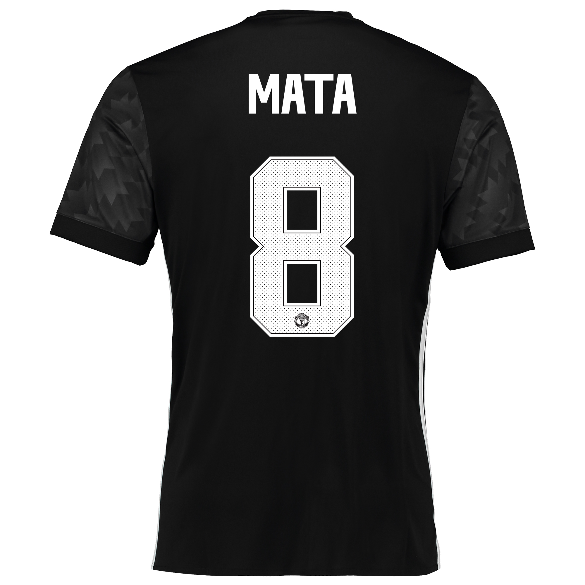 Image of Manchester United Away Cup Shirt 2017-18 with Mata 8 printing