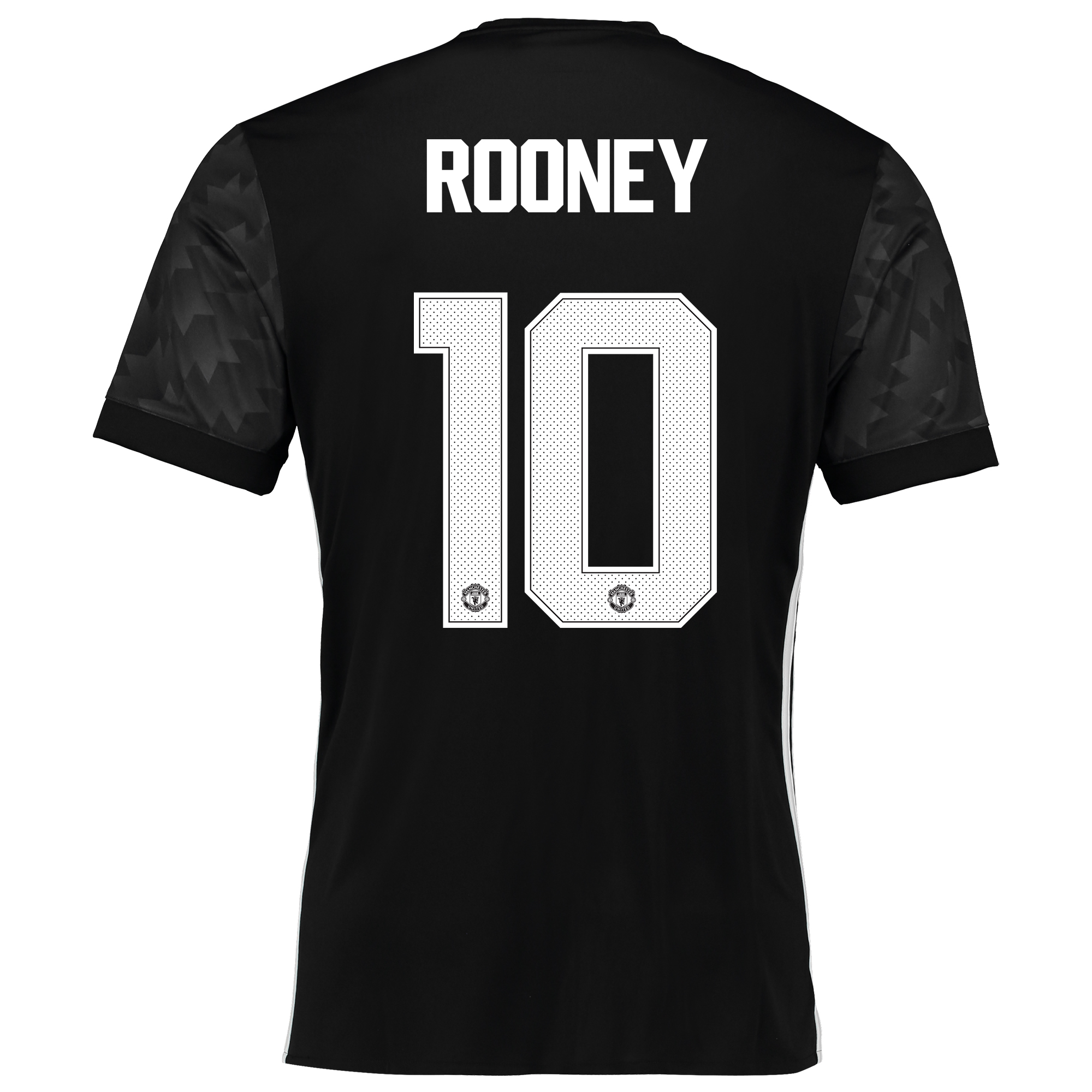Manchester United Away Cup Shirt 2017-18 with Rooney 10 printing
