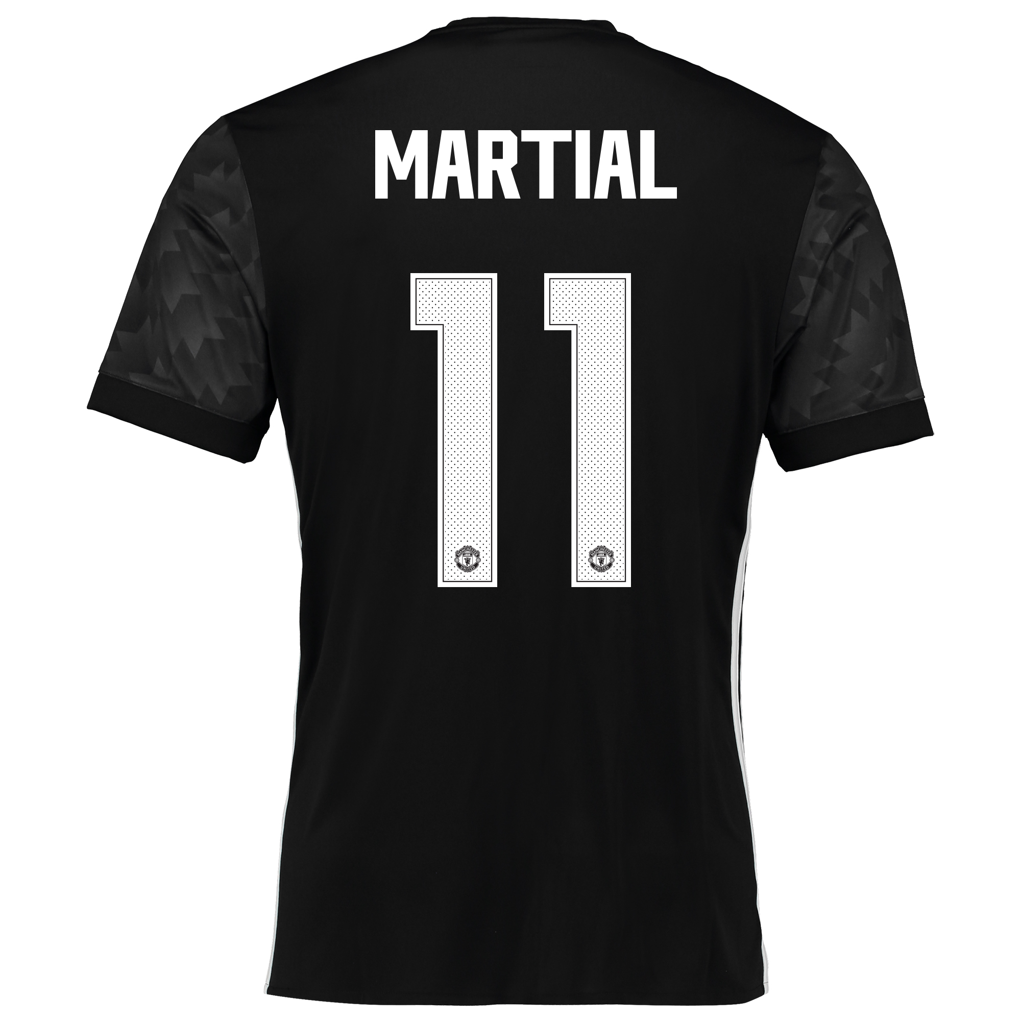 Image of Manchester United Away Cup Shirt 2017-18 with Martial 11 printing