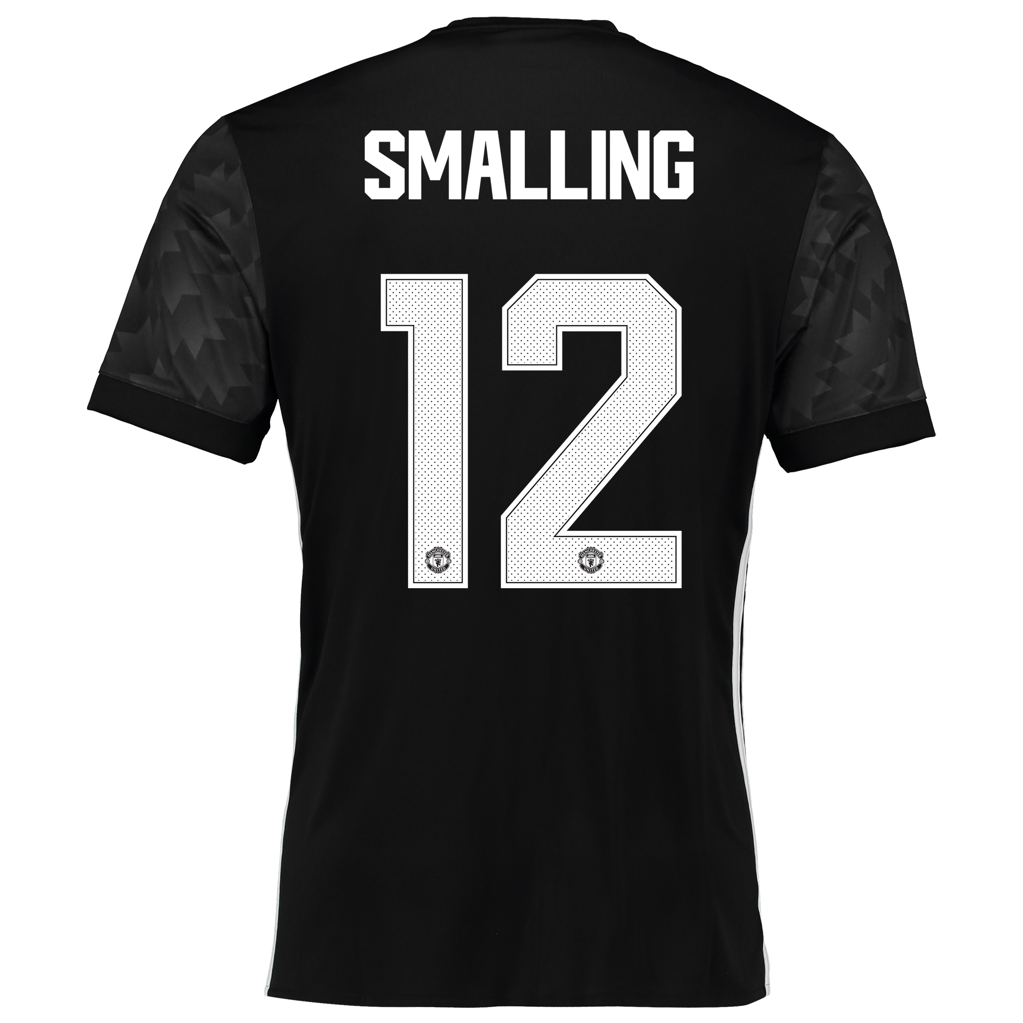 Image of Manchester United Away Cup Shirt 2017-18 with Smalling 12 printing