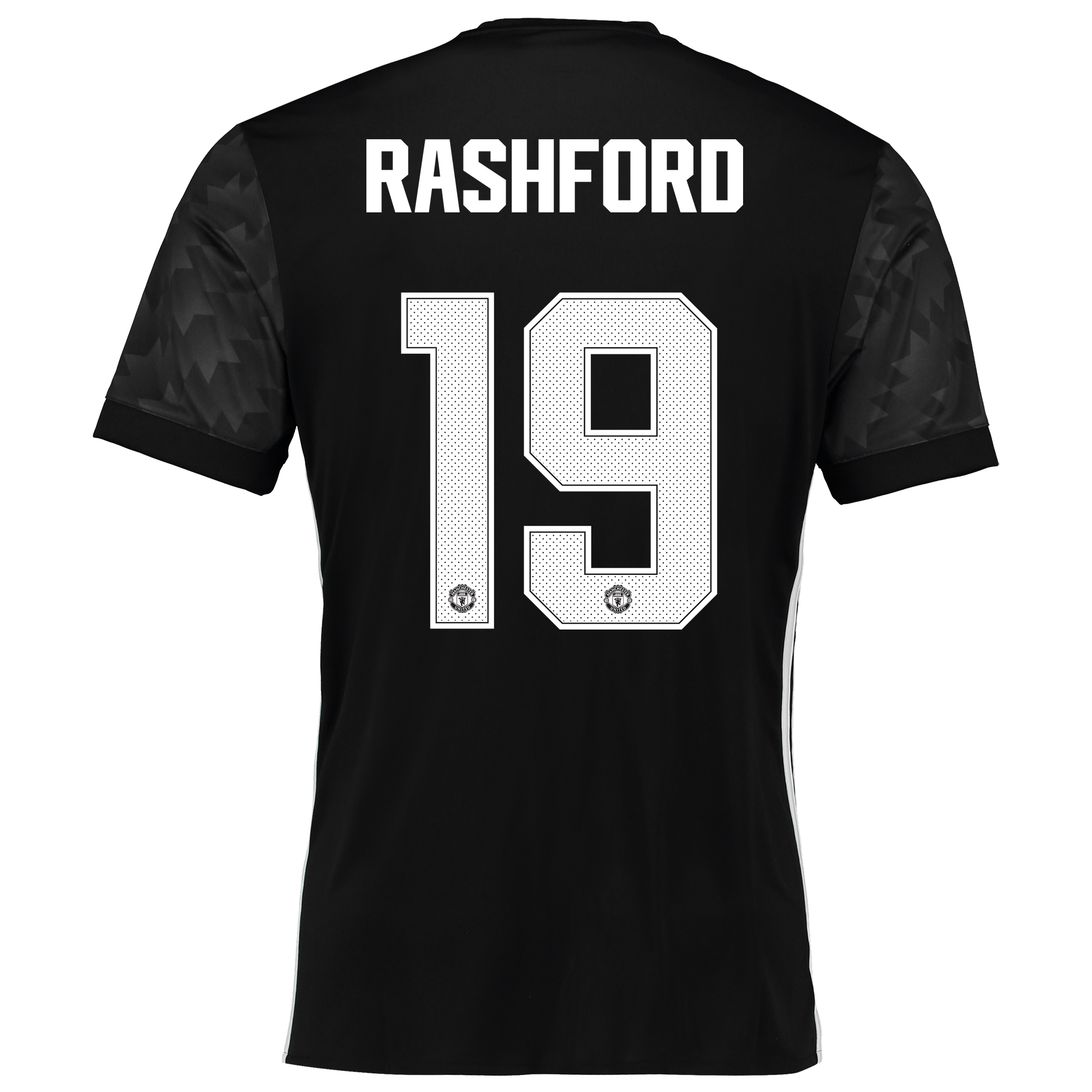 Image of Manchester United Away Cup Shirt 2017-18 with Rashford 19 printing