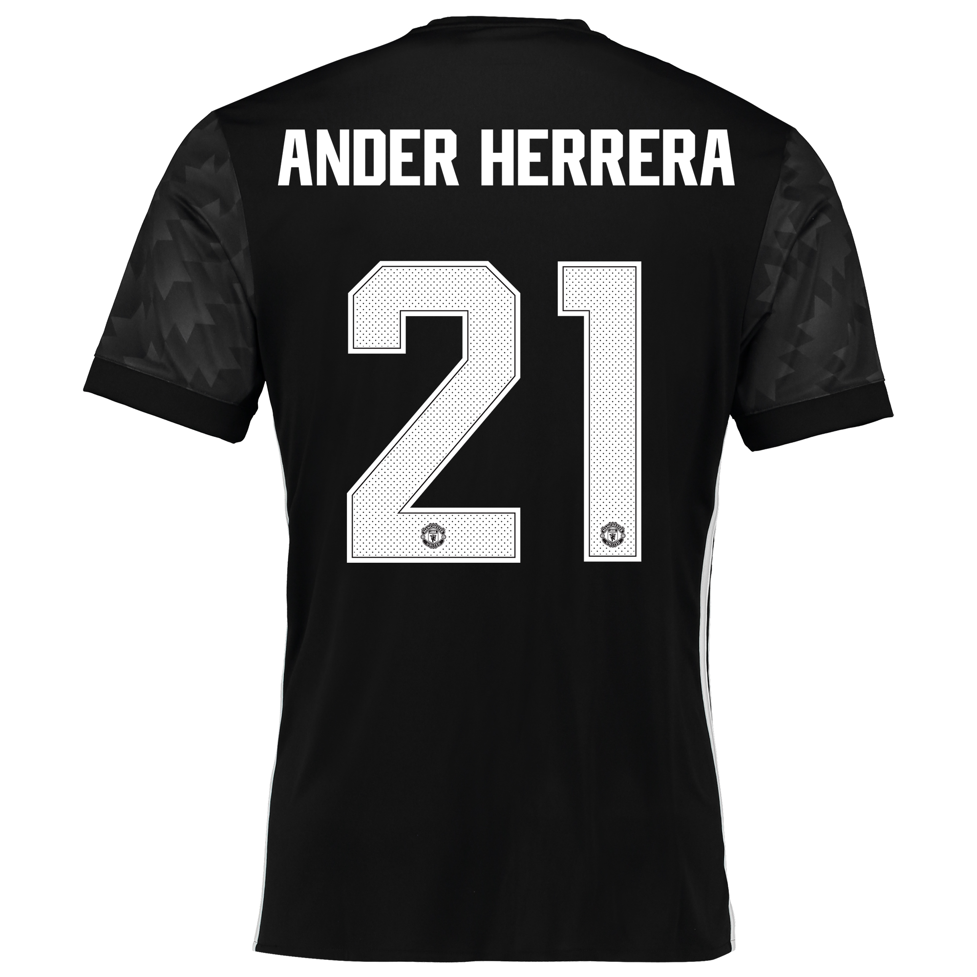 Image of Manchester United Away Cup Shirt 2017-18 with Ander Herrera 21 printing