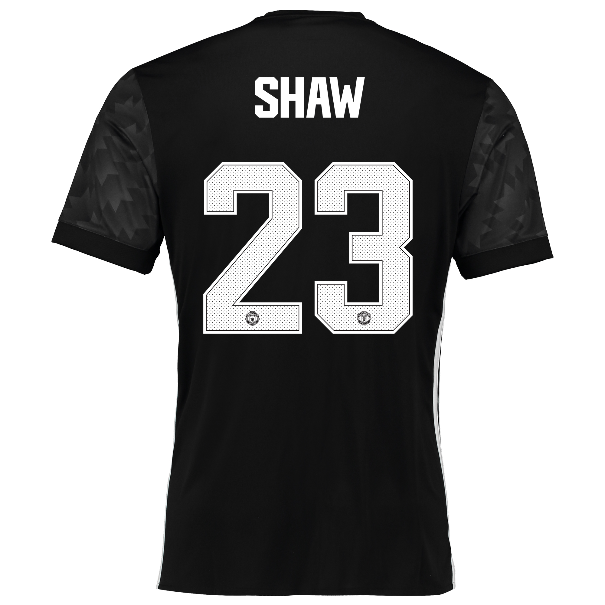 Image of Manchester United Away Cup Shirt 2017-18 with Shaw 23 printing